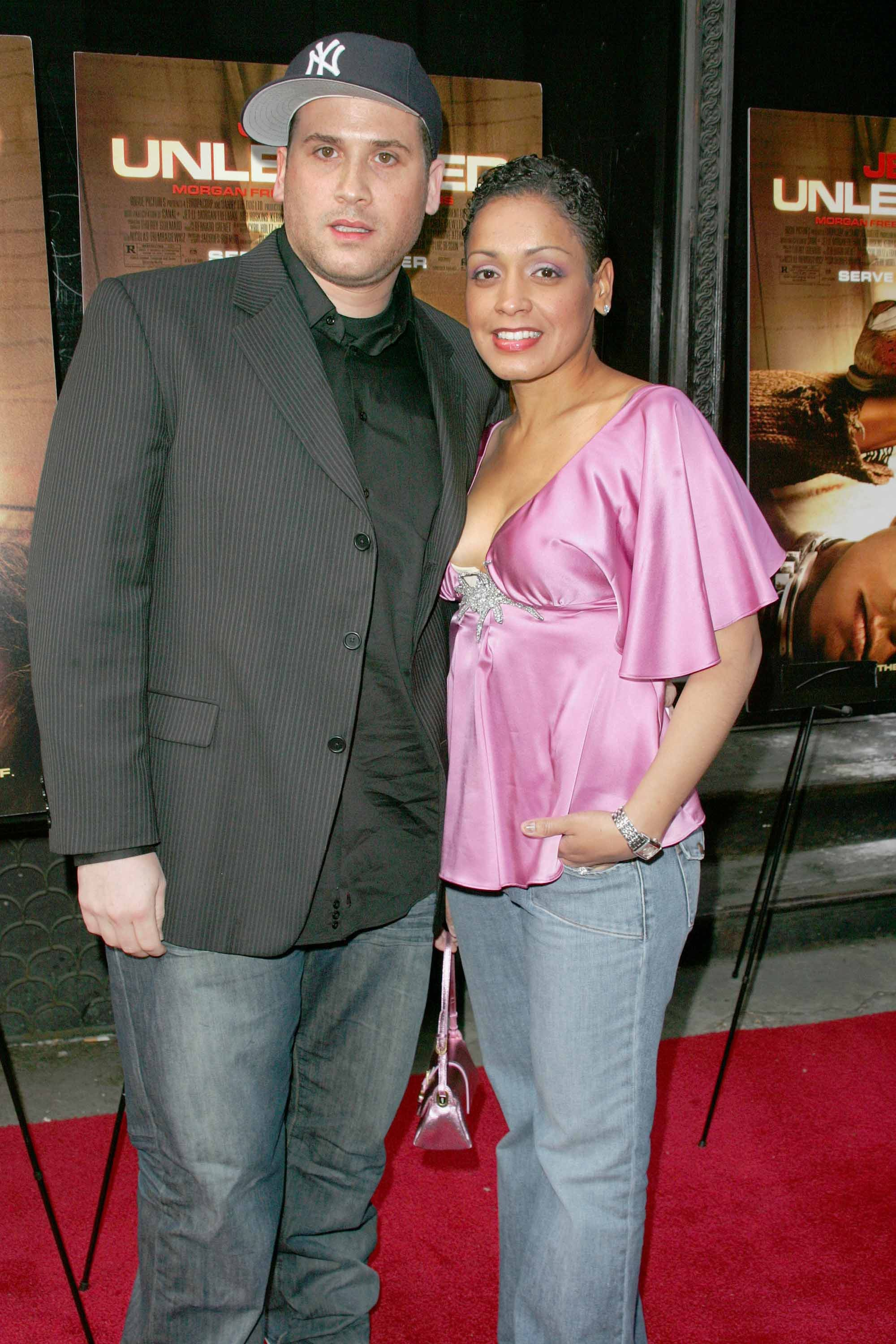 2000x3000 Marc Ecko and wife Allison The New York Premiere of Rogue Picture's  UNLEASHED, at Loews
