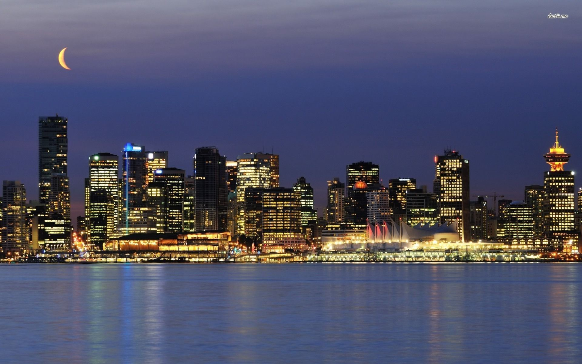 1920x1200 ... Vancouver skyline wallpaper  ...