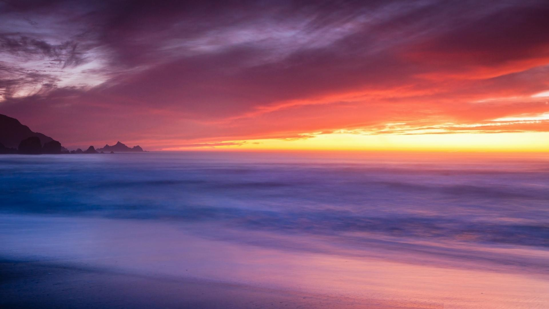 1920x1080 Rockaway-beach-california-wallpapers-HD
