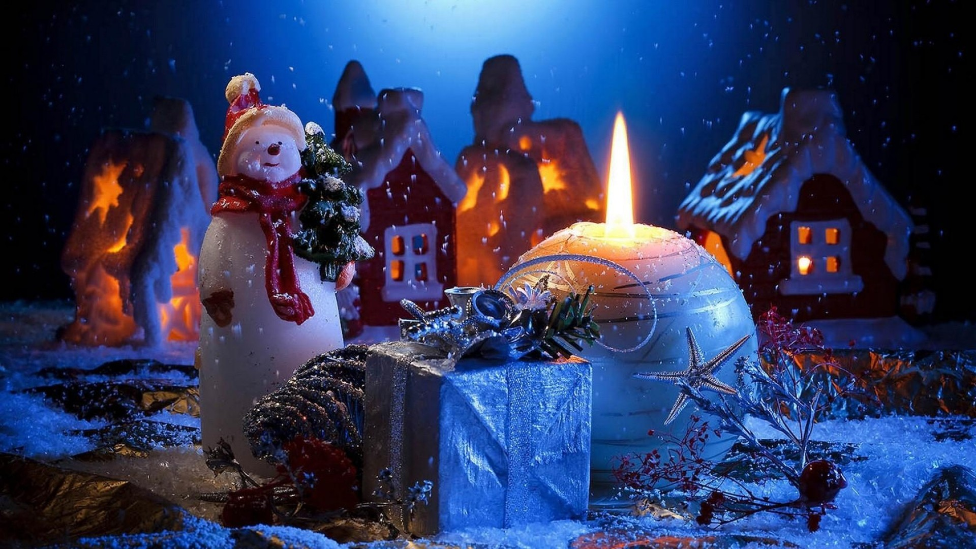 1920x1080 Gift, Home, Holiday, New year, Christmas Full HD 1080p .