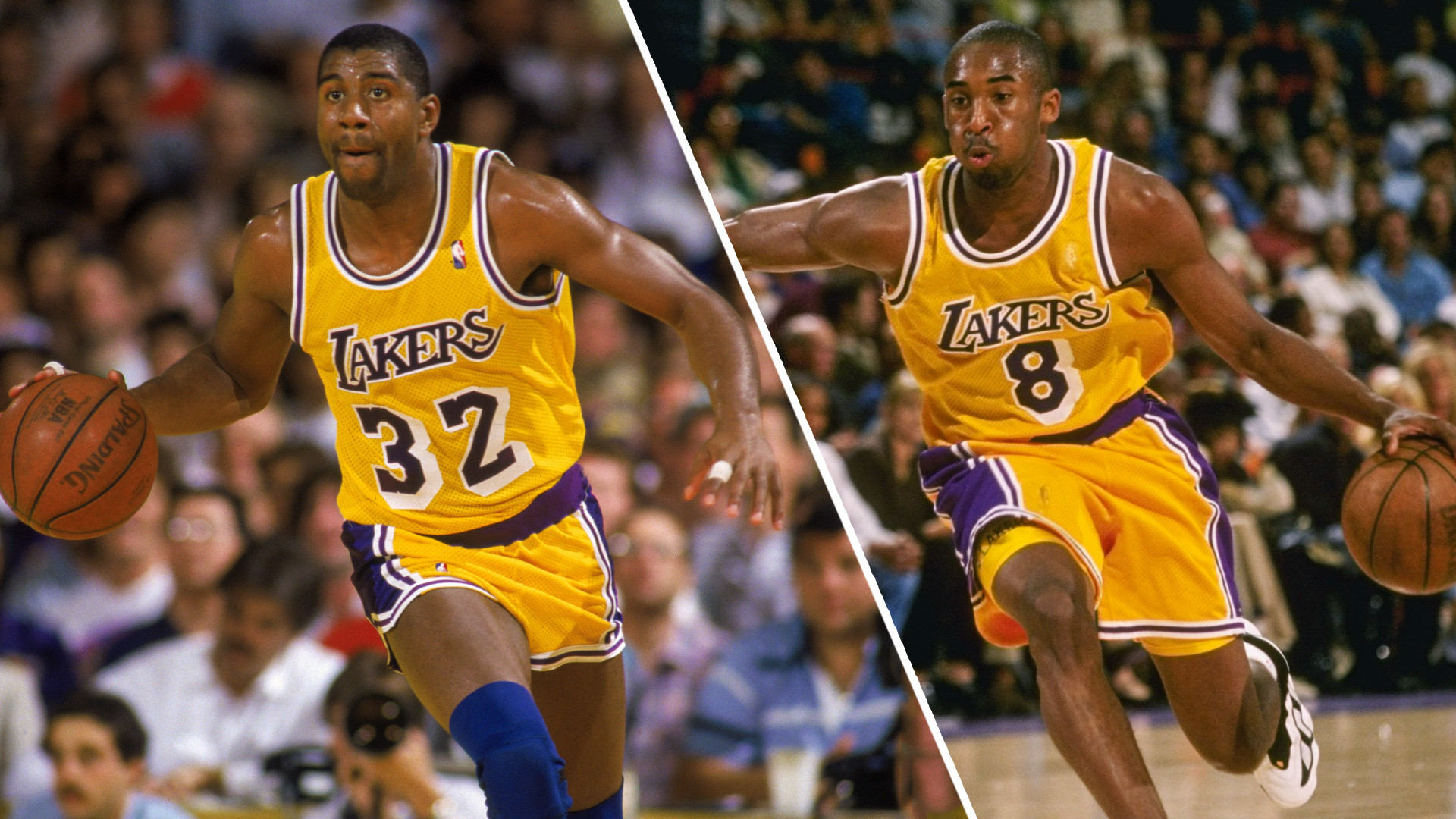 1920x1080 Magic Johnson, not Kobe Bryant, is the greatest Laker — even if he won't  admit it