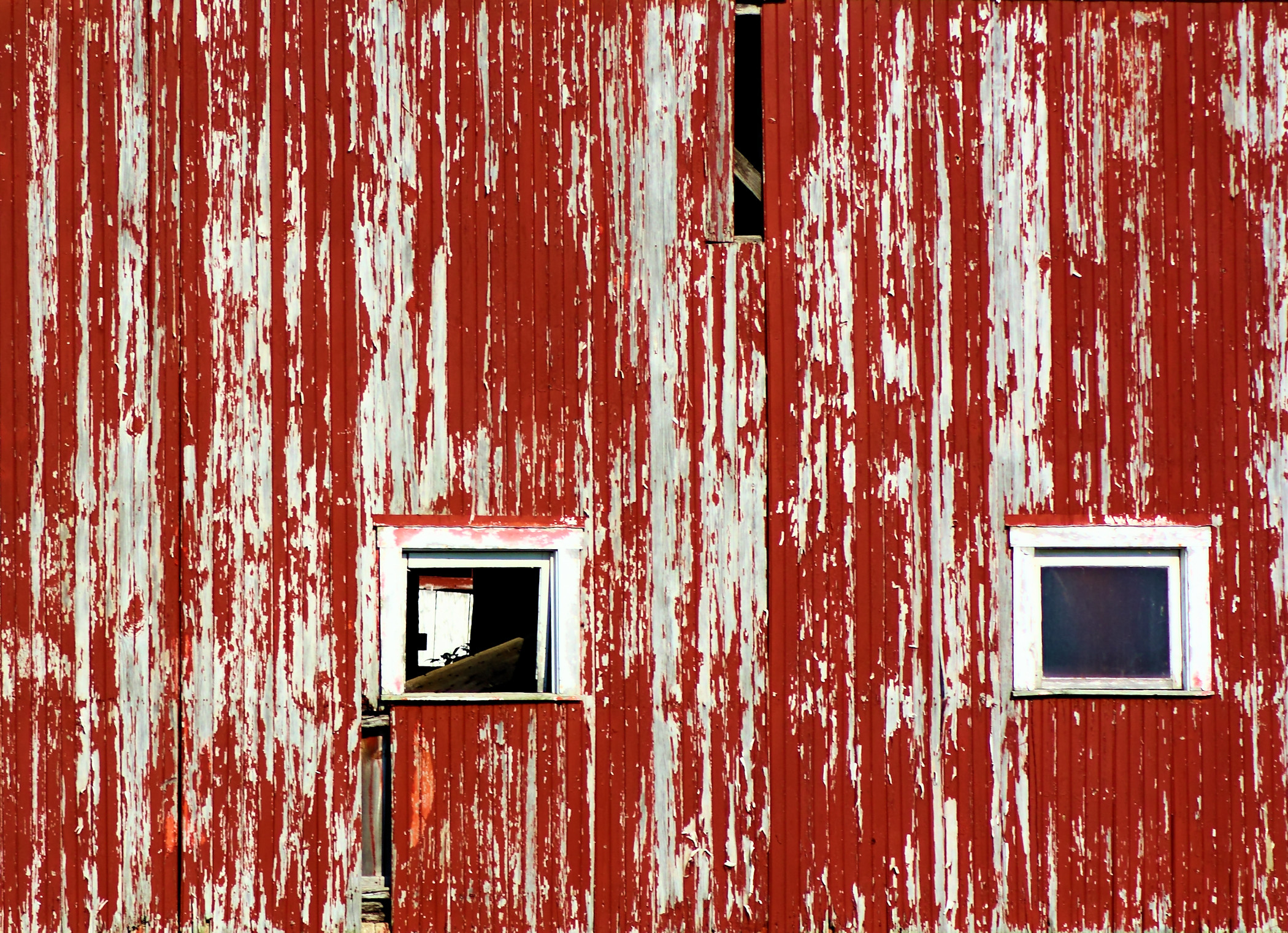 2100x1522 old red barn siding background needs painting with windows and missing