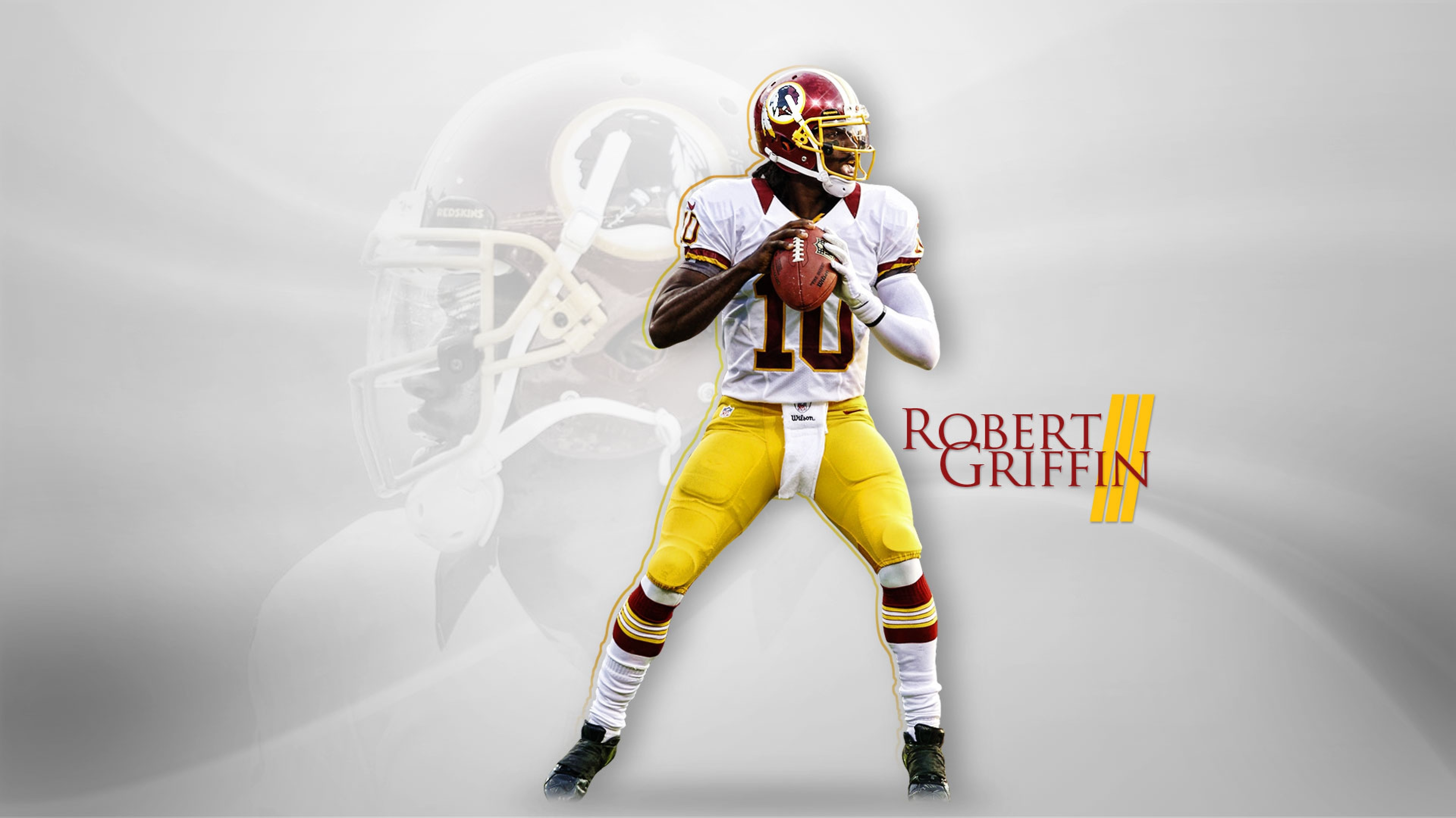 3840x2160  Wallpaper robert griffin iii, rg 3, american football,  quarterback, washington redskins
