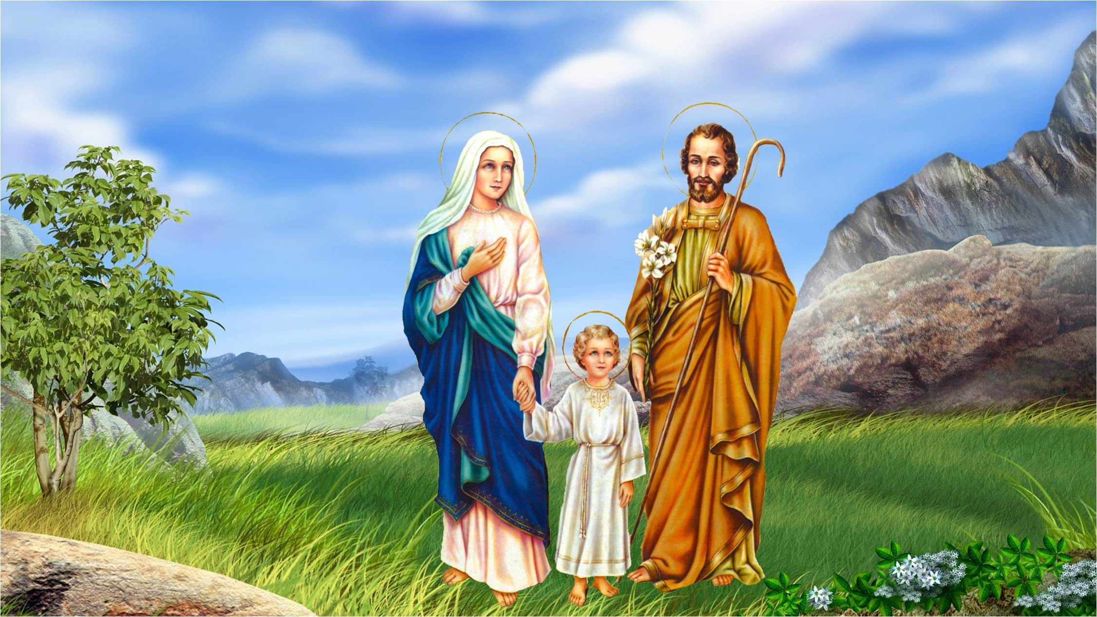 Holy Family Wallpapers 44 Images