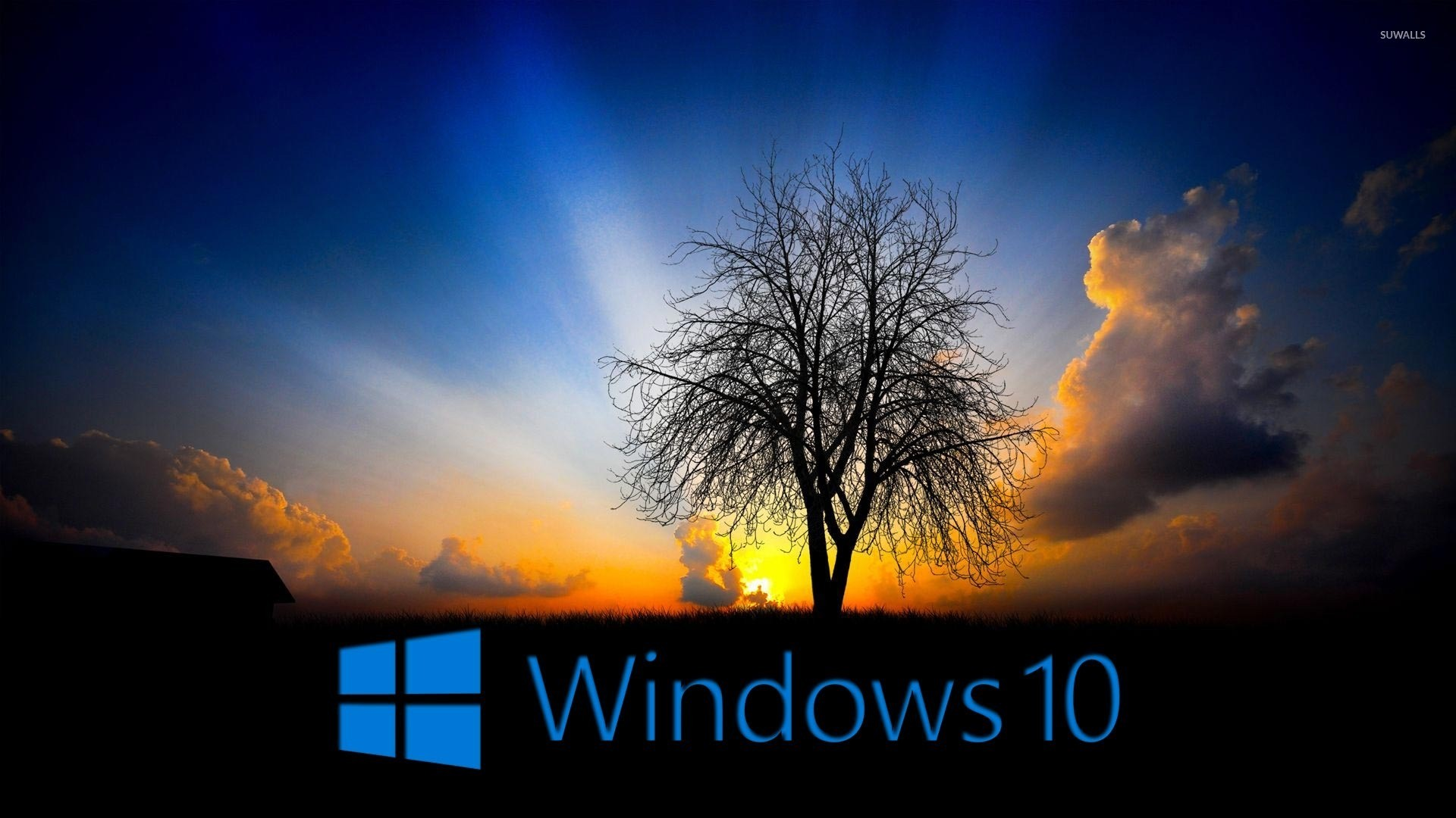 1920x1080 Windows 10 in the twilight [3] wallpaper  jpg