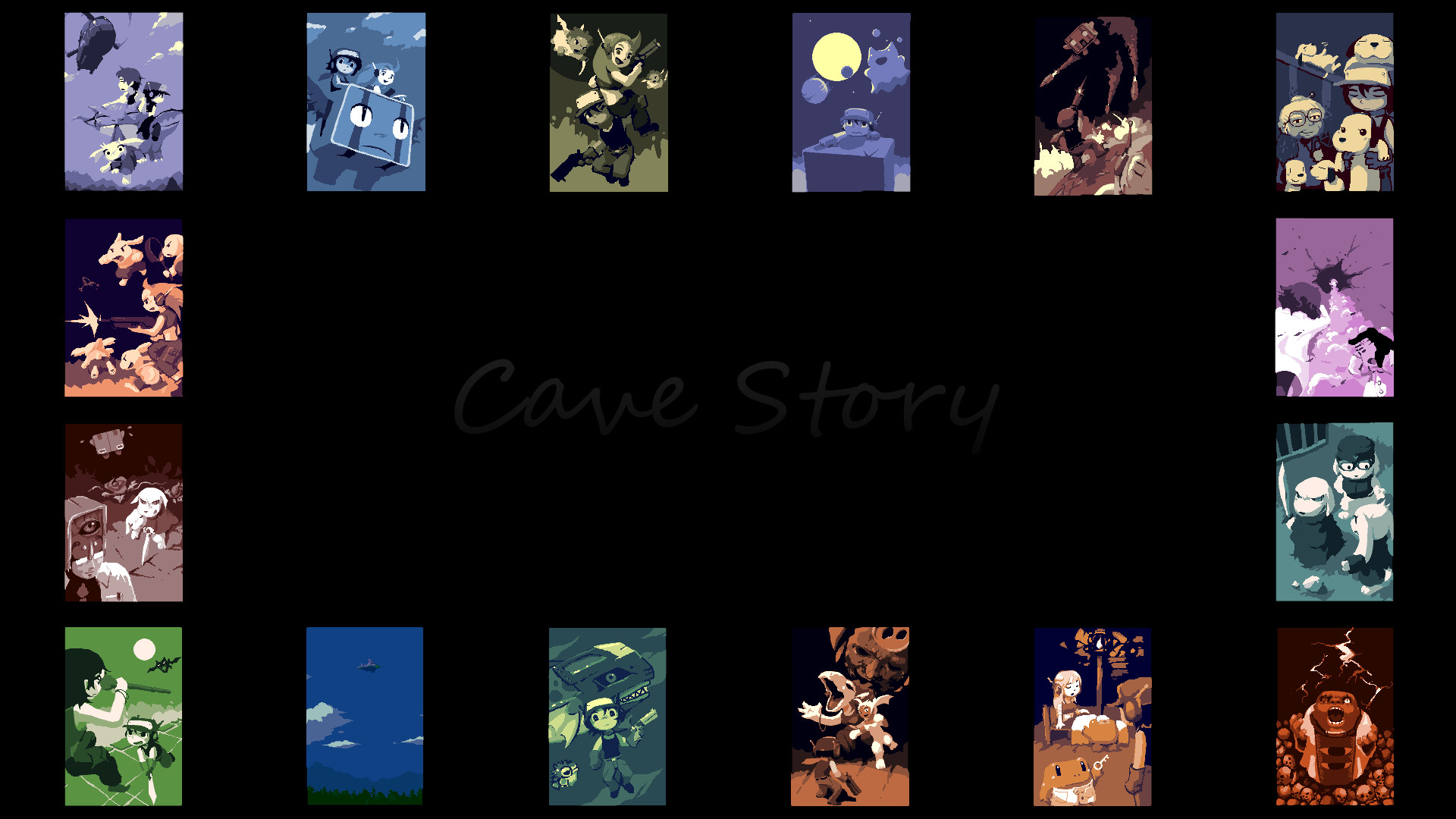 1920x1080 Cave Story!