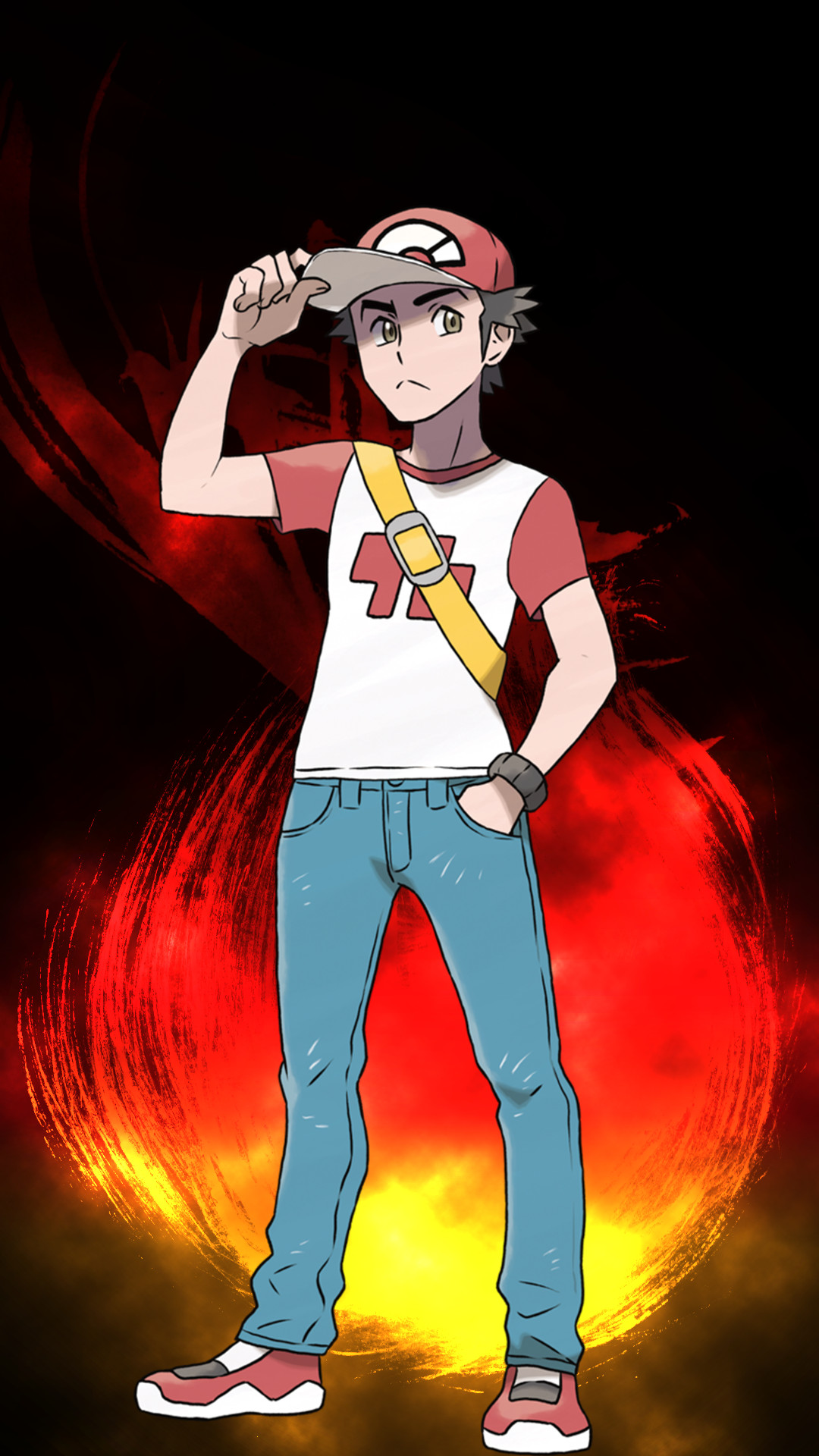Pokemon Trainer Red Wallpaper 69 Images