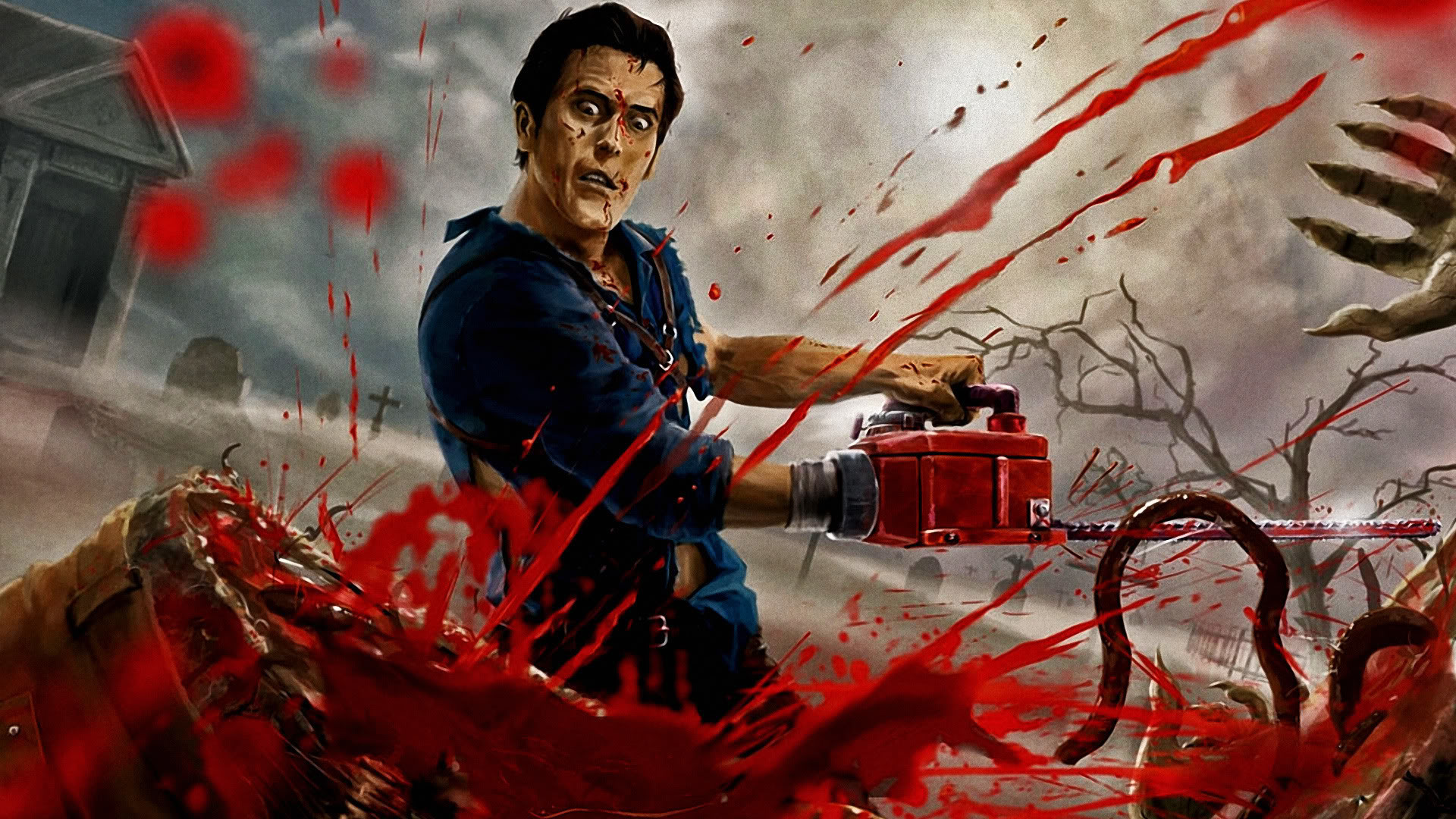 1920x1080 Ashley 'ash' j. williams the evil dead horror movie best characters