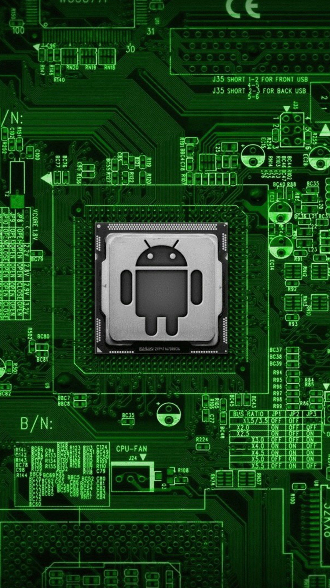 Computer chip wallpaper 57 images - Circuit board wallpaper android ...
