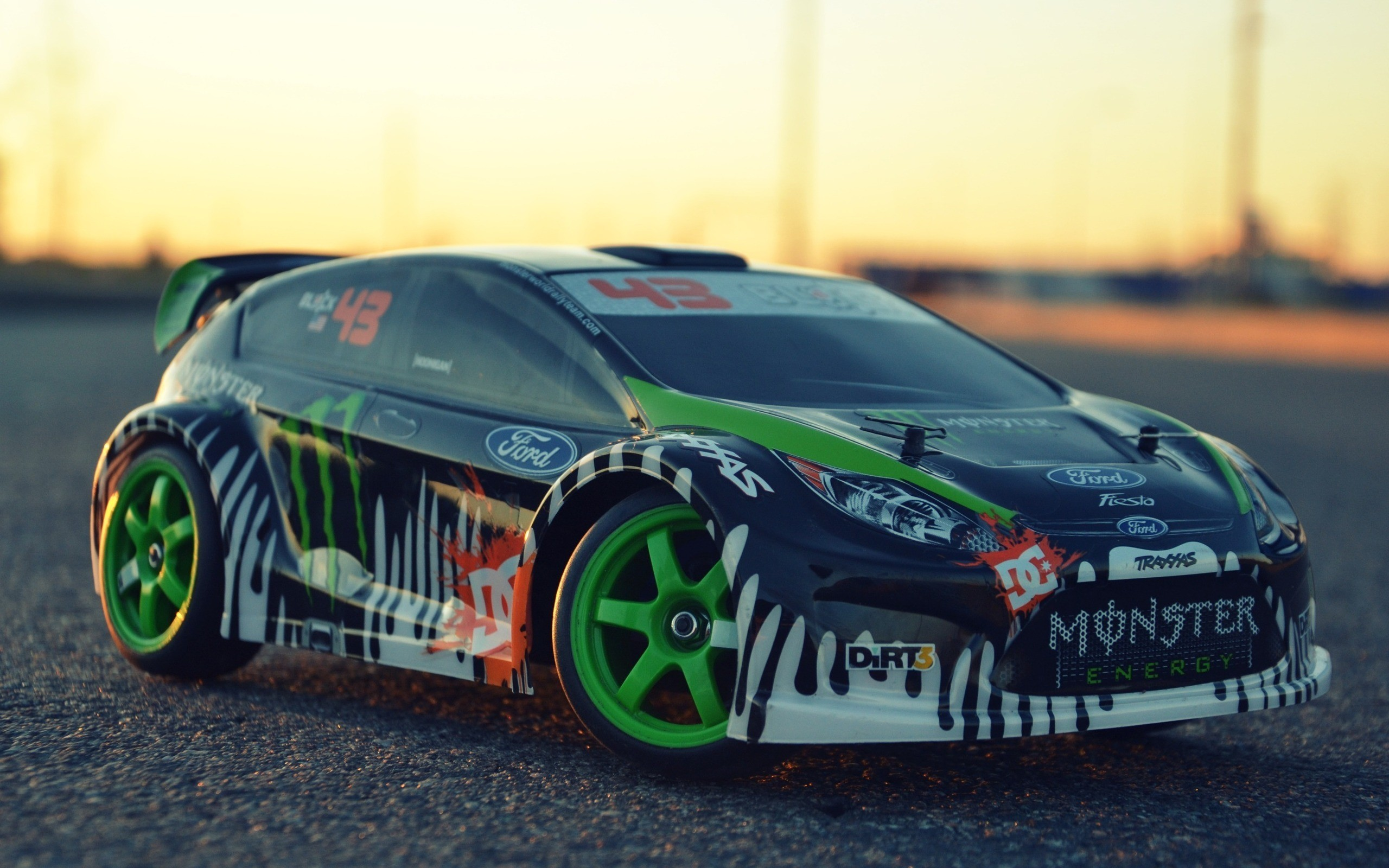 2560x1600 Ken block ford fiesta dc shoes toy cars traxxas wallpaper |  |  10403 | WallpaperUP