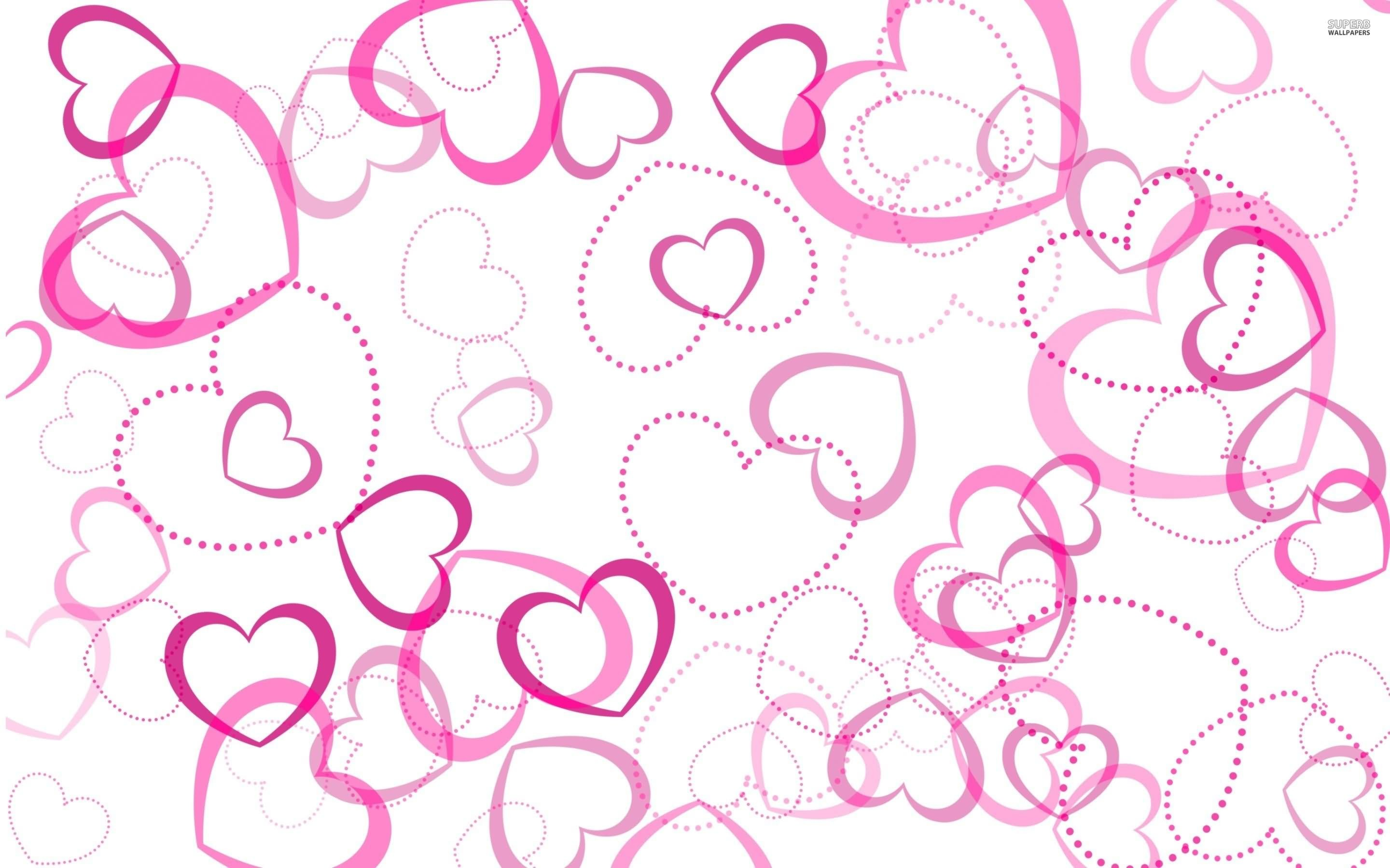 2880x1800 Red Cute Heart Wallpapers