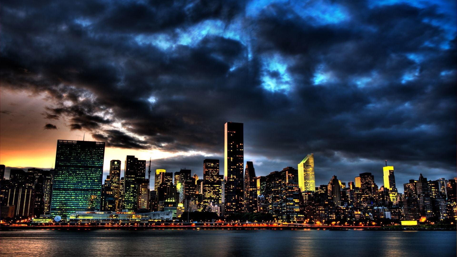 1920x1080 New York City Skyline 1080p Wallpaper City HD Wallpapers Source