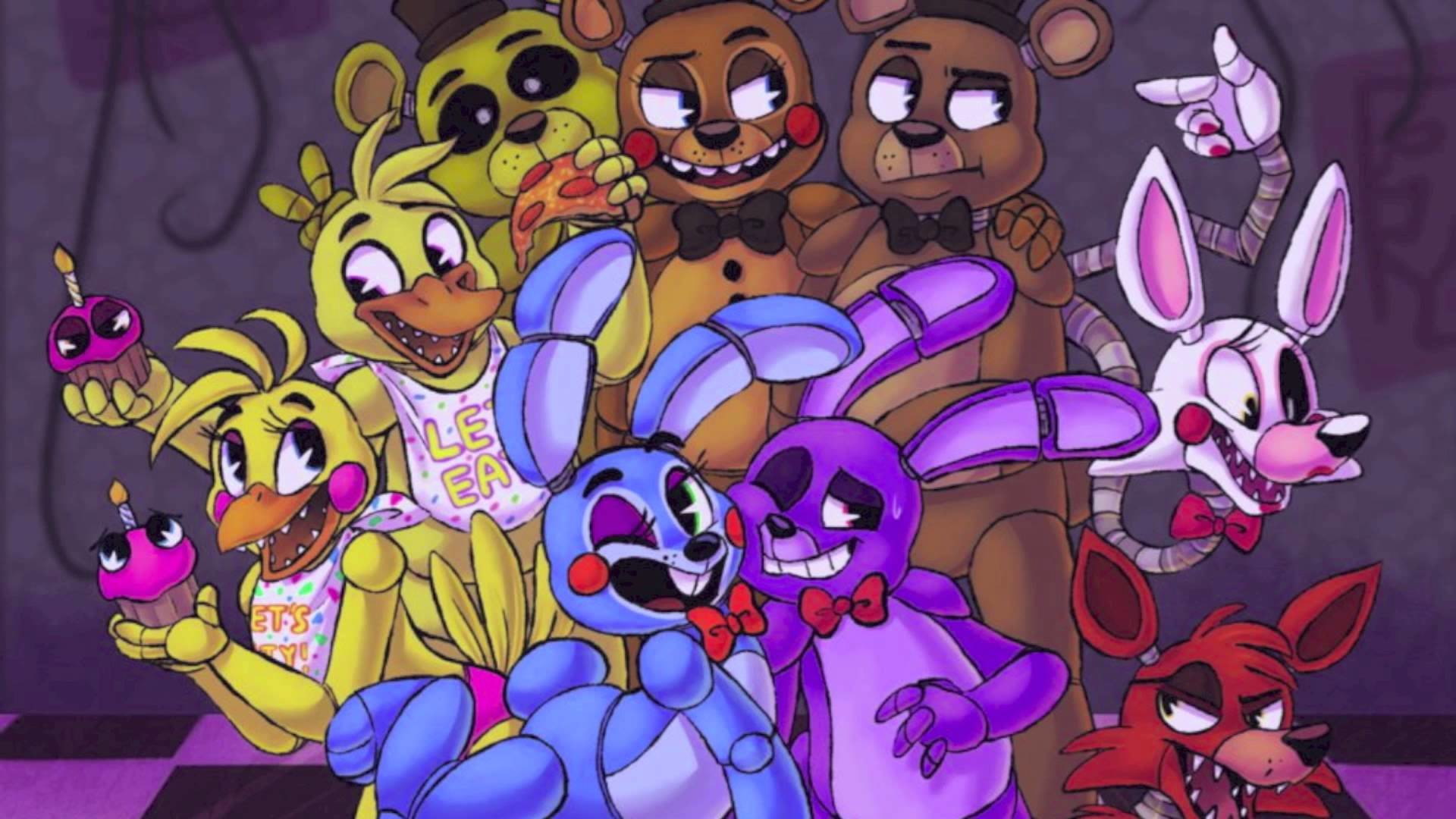 1920x1080 Five Nights At Freddy's 2【Sayonara Maxwell】(FNAF)