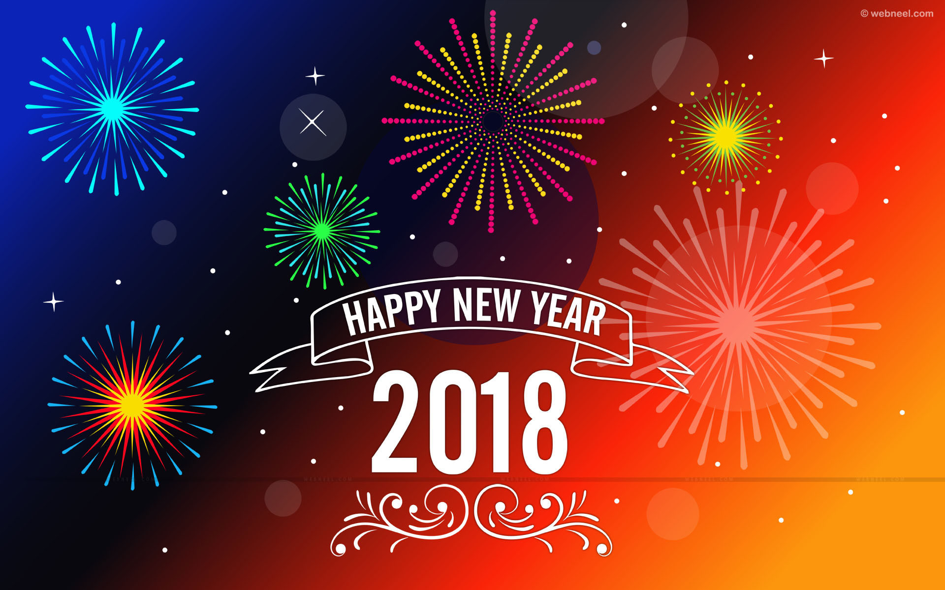 New Happy New Year 2018 Wallpaper (78+ images)