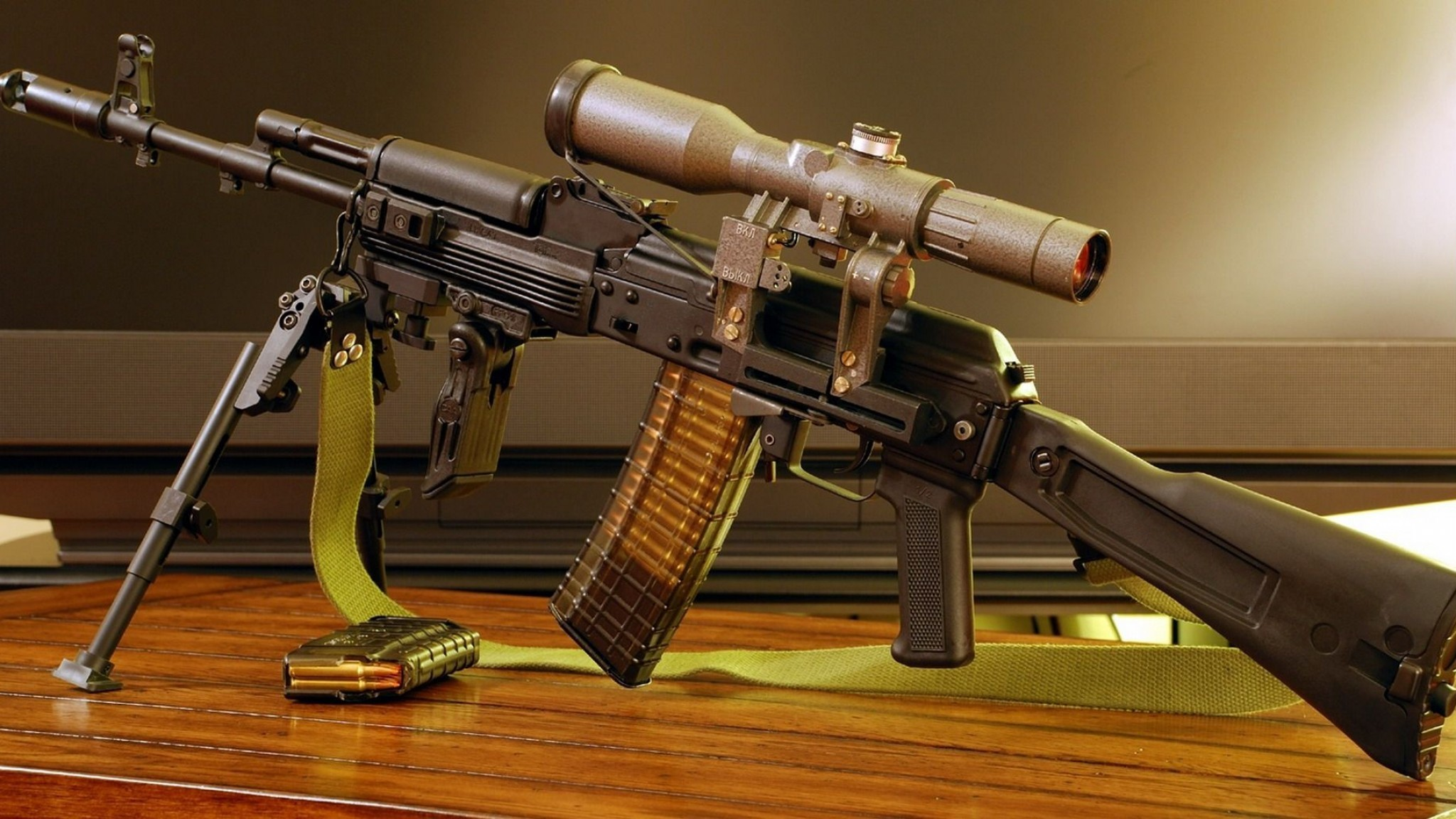 2048x1152 AK 47 Weapon Gun Military Guns Wallpaper Ak47 Gold