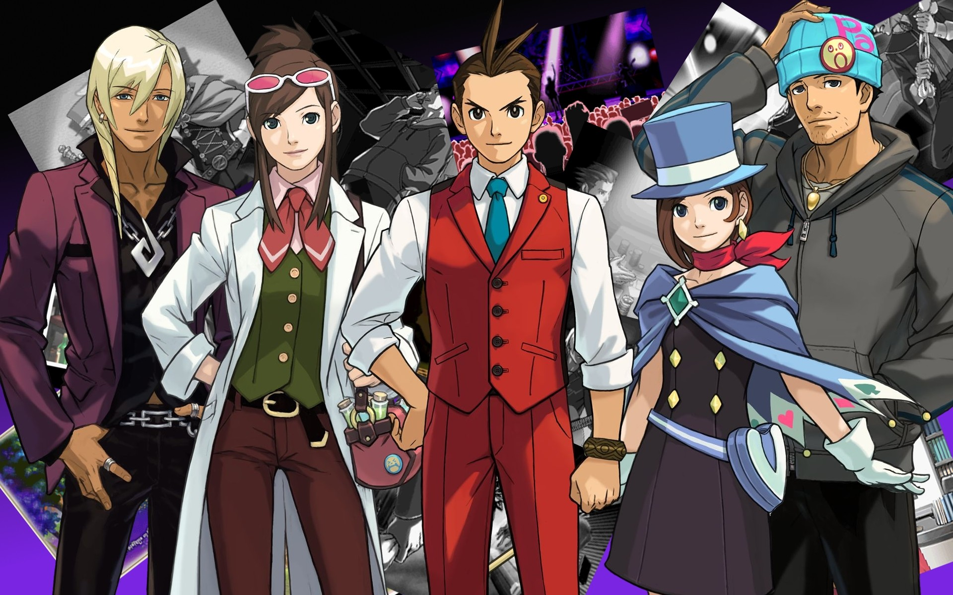 1920x1200 Apollo Justice Characters wallpaper - ForWallpaper.com