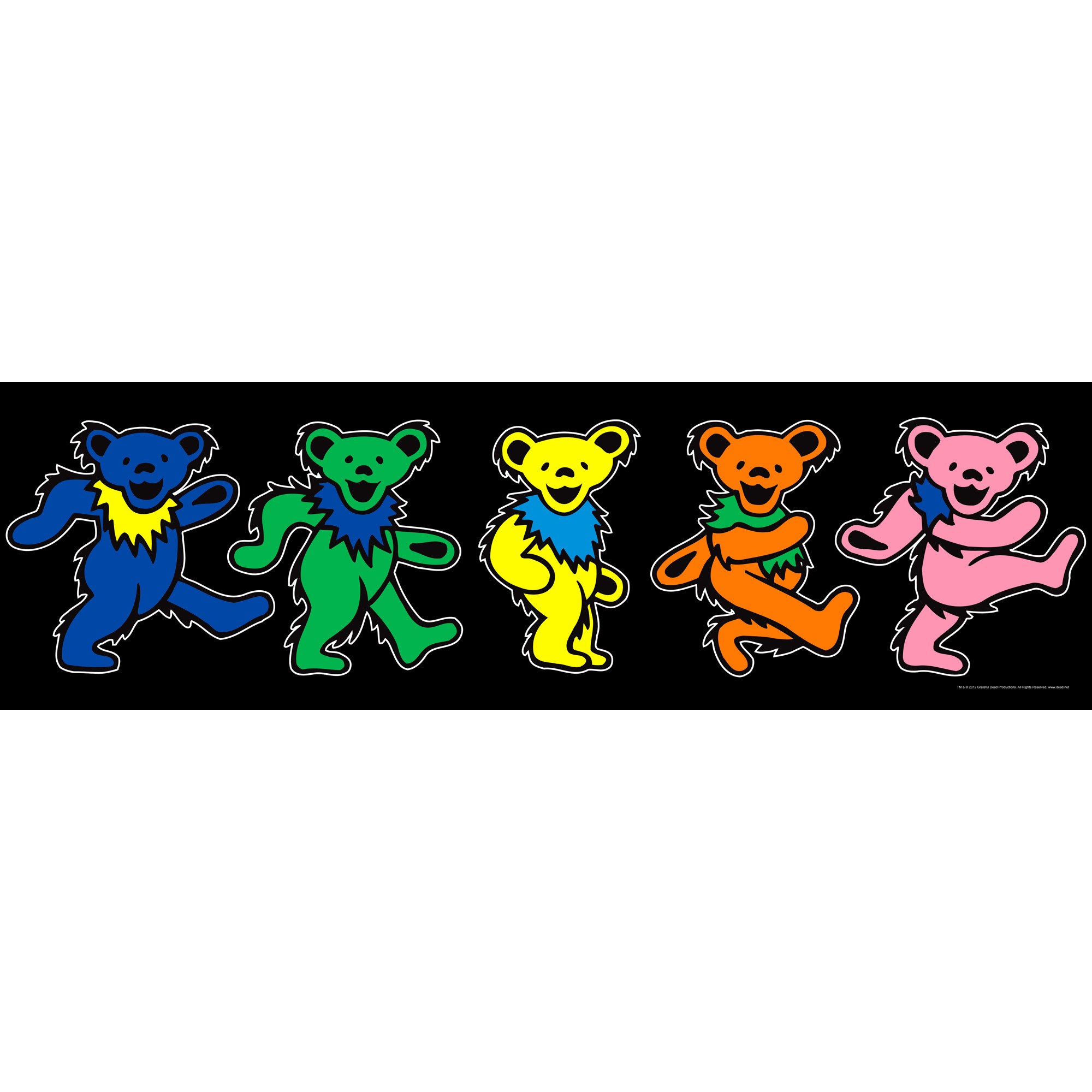 2000x2000 Description: The colorful, classic Grateful Dead dancing bears come to .