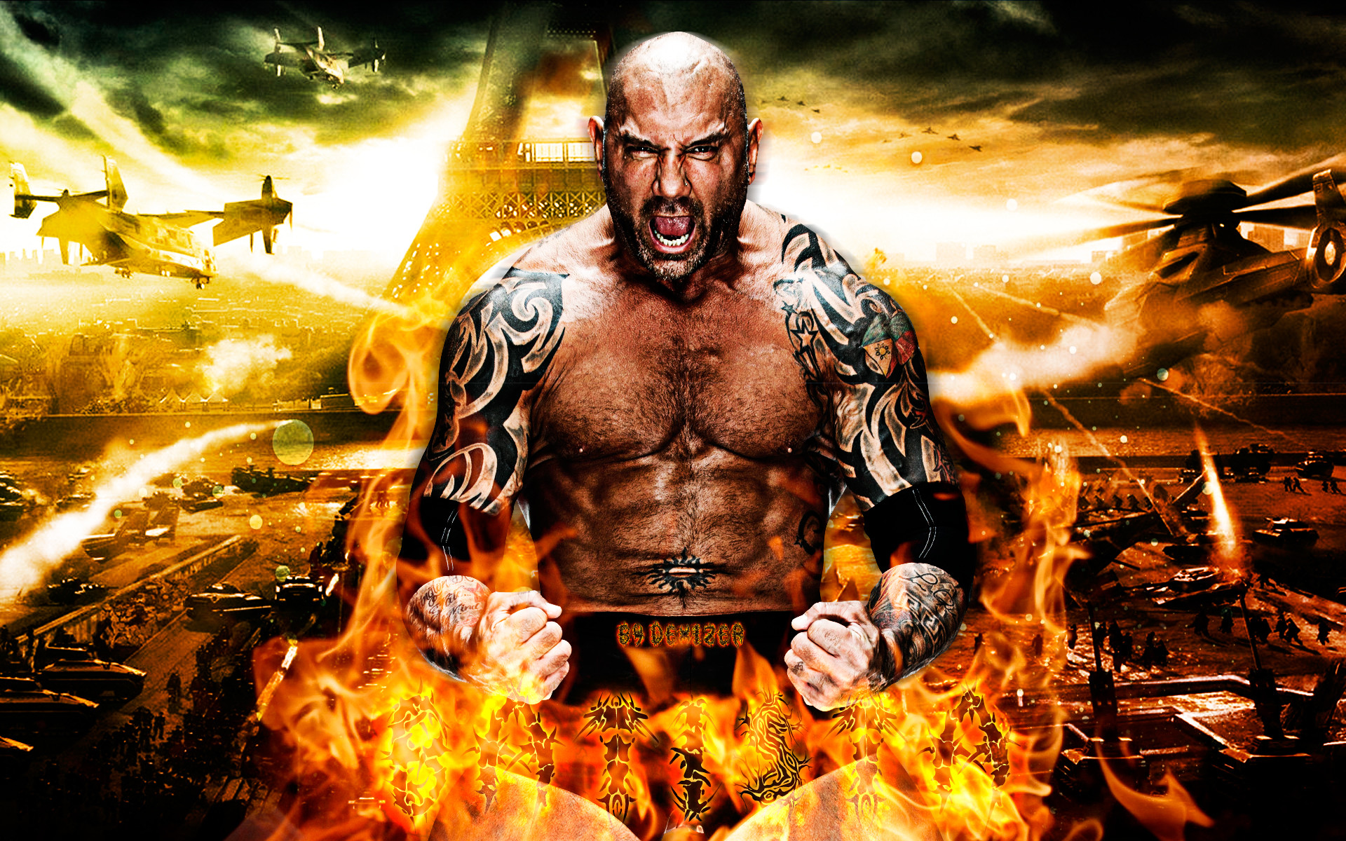 Wwe Wallpaper Batista 67 Images