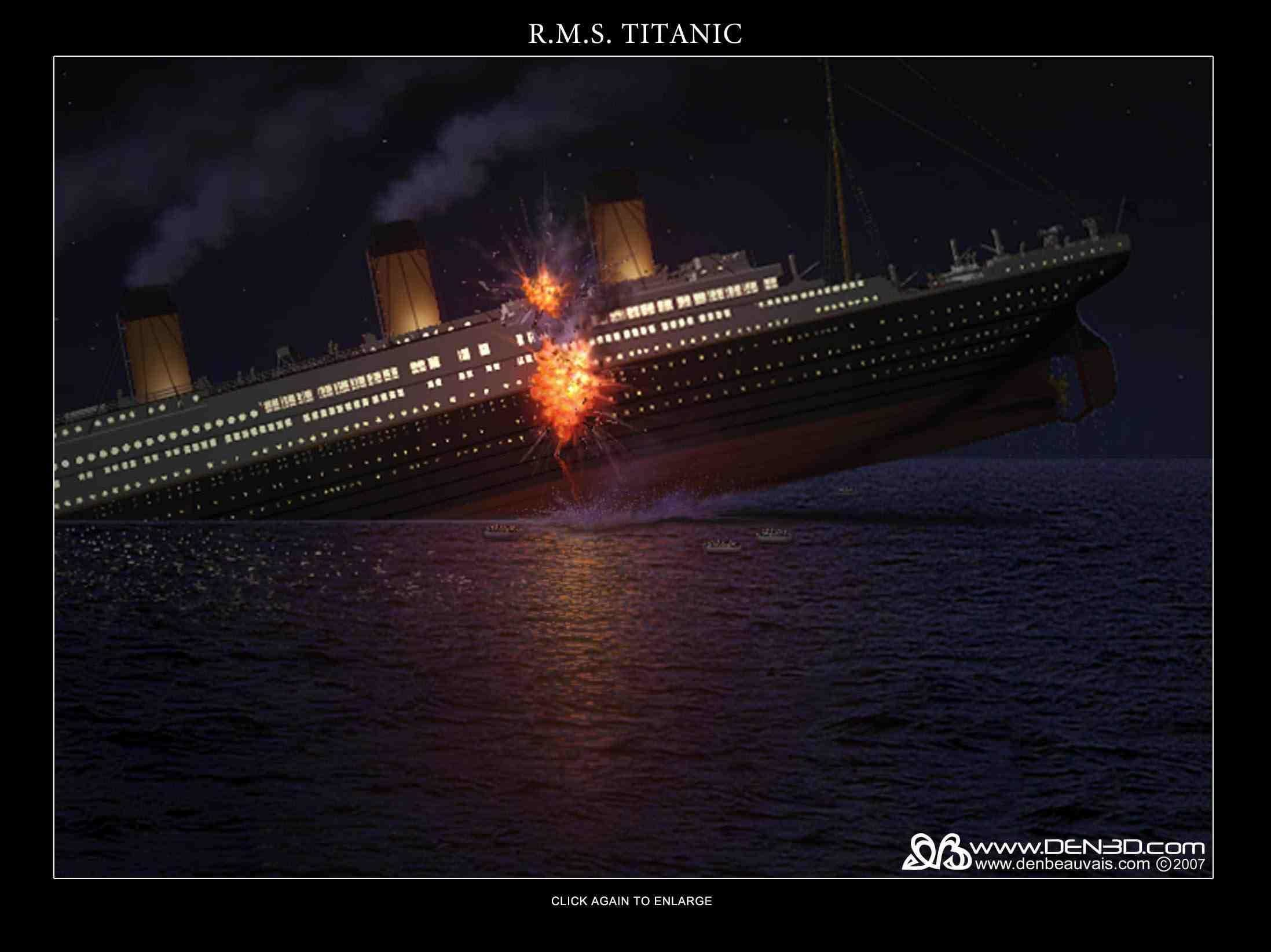 2195x1644 titanic sinking wallpapers wallpaper cave