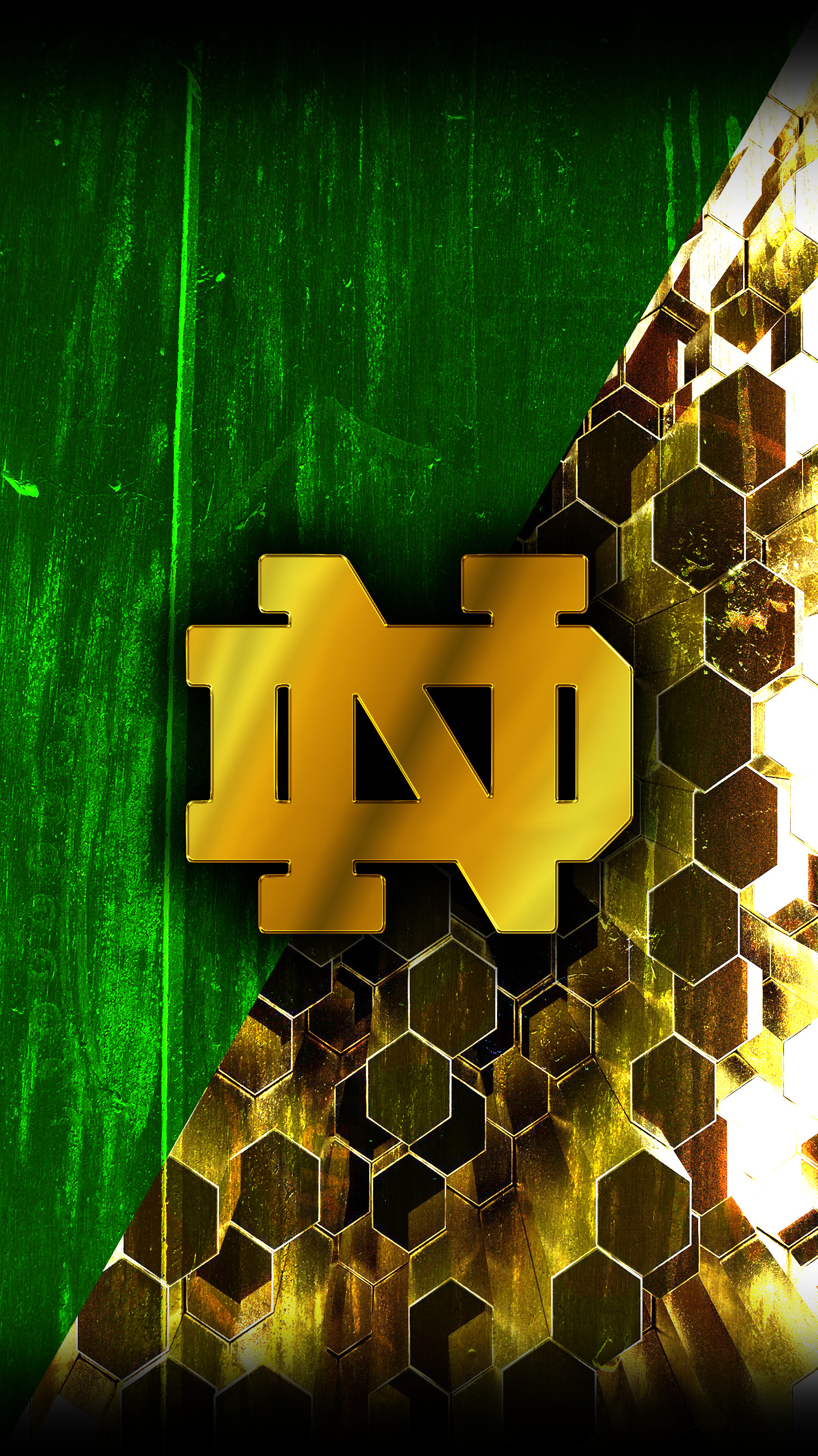 Notre dame logo wallpaper 70 images - Notre dame football wallpaper ...
