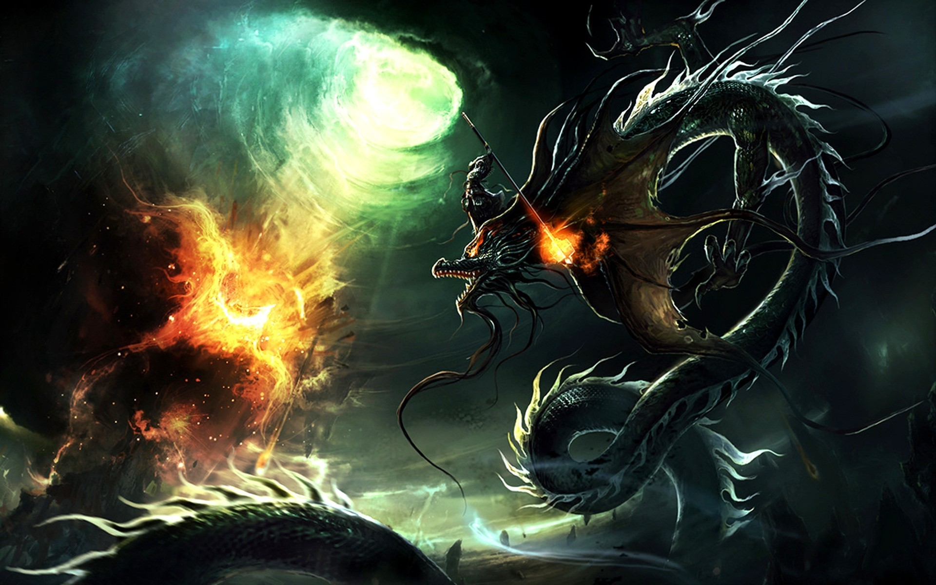 1920x1080 Black Dragon HD Wallpapers For Pc