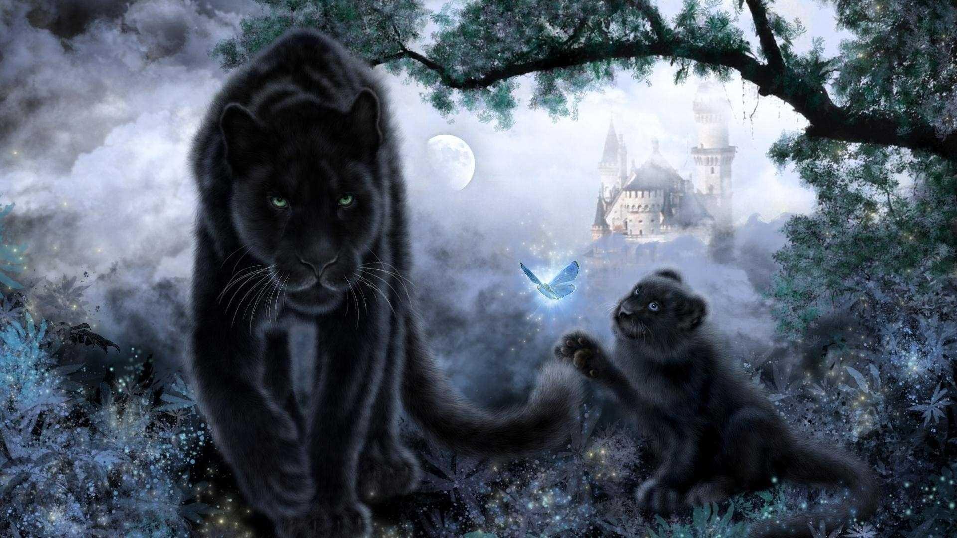 Black cat christmas wallpaper 55 images 1920x1080 full hd hello kitty halloween wallpaper voltagebd Images