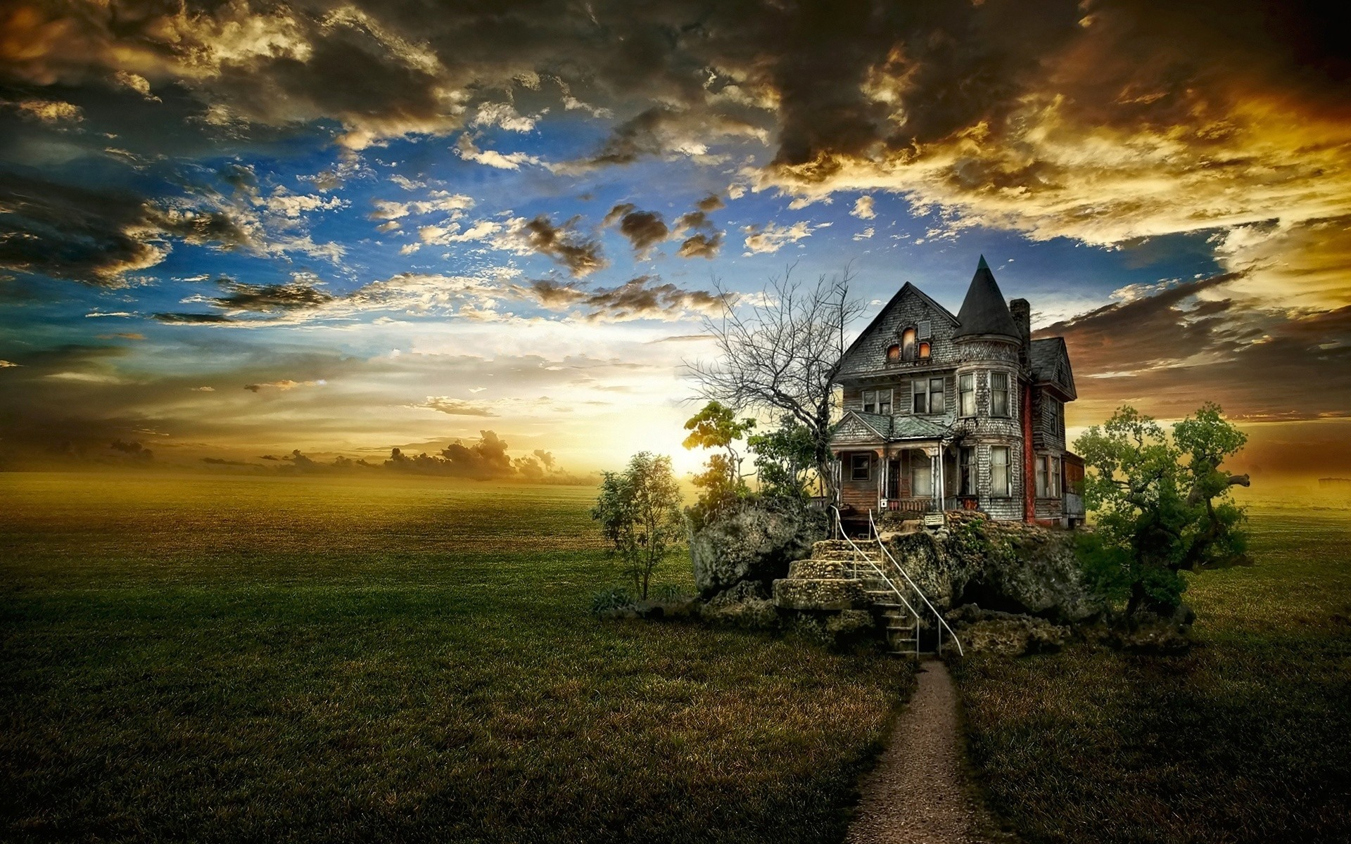 1920x1200 of an abandoned house HD Desktop Wallpaper | HD Desktop Wallpaper .