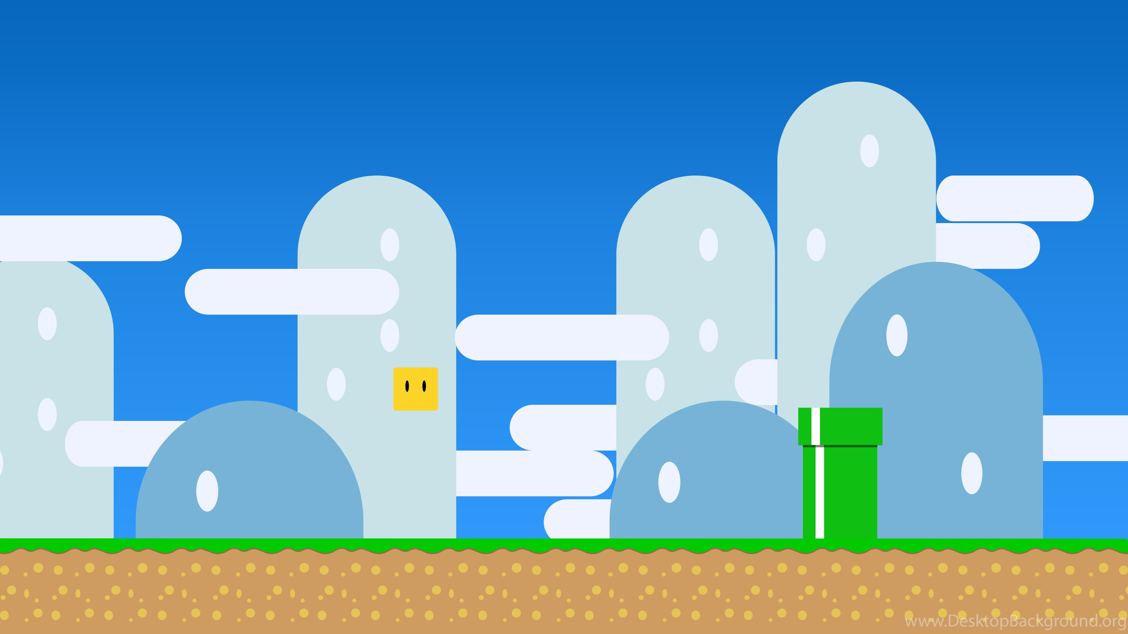 3840x2160 Super Mario World Minimal Wallpapers By NicolasNSane On DeviantArt