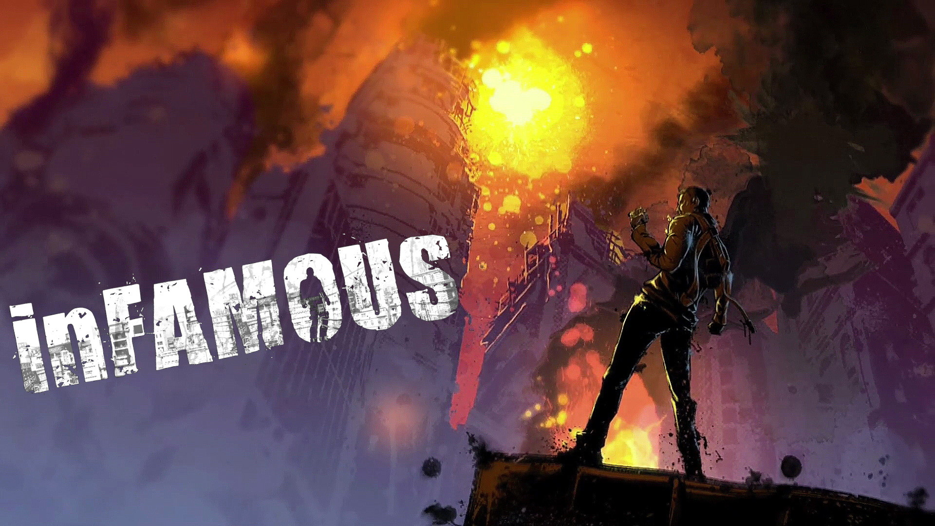 1920x1080 Content Test 2. inFamous - Art Wallpapers