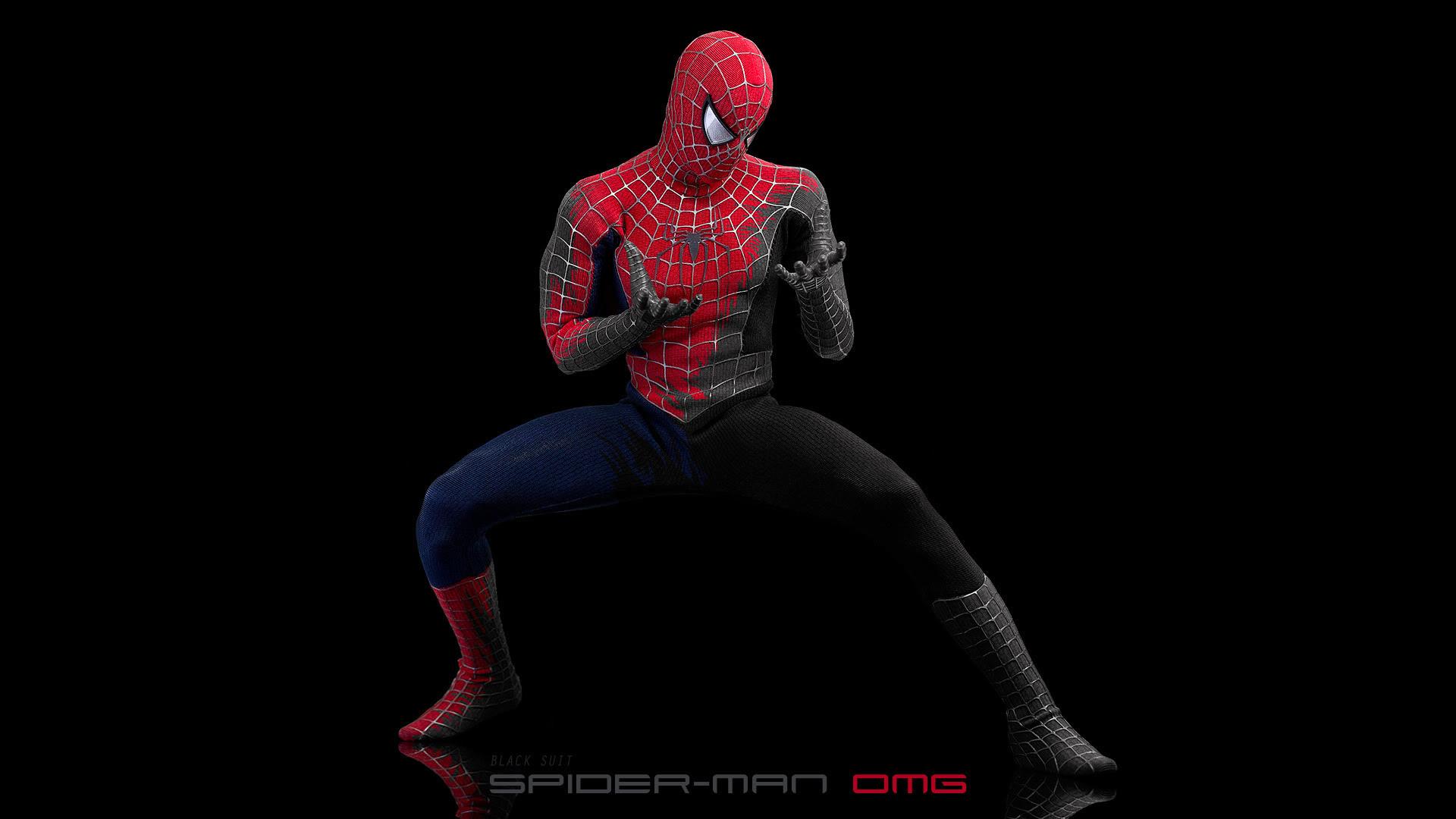 Black Suit Spiderman Wallpaper (75+ images)