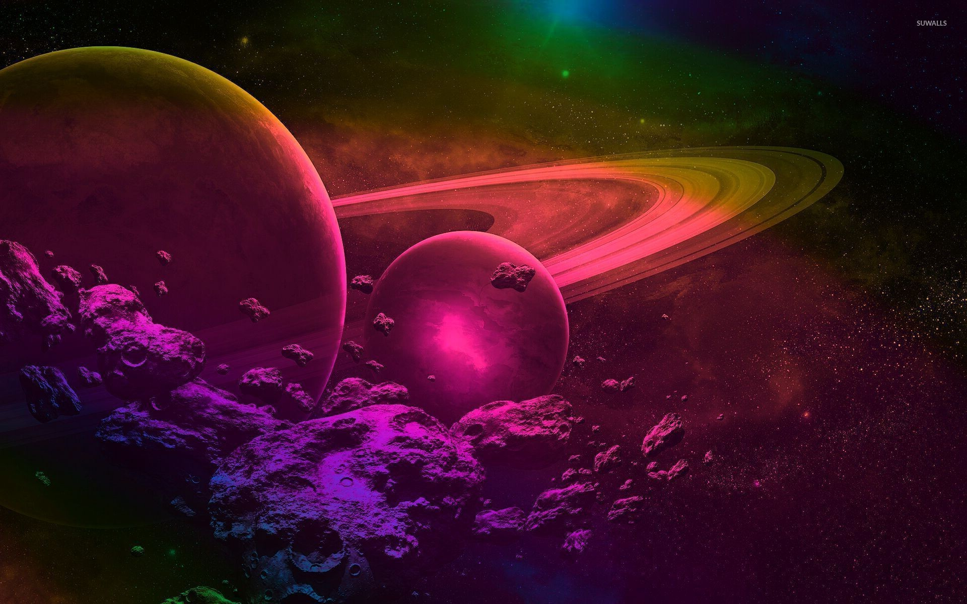 1920x1200 Pink and purple space wallpaper  jpg