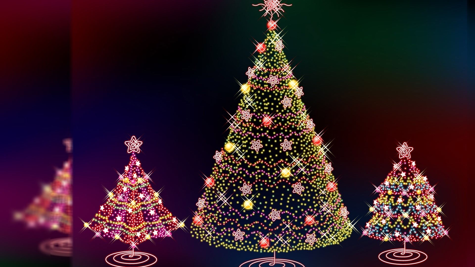 christmas desktop backgrounds (60+ images)