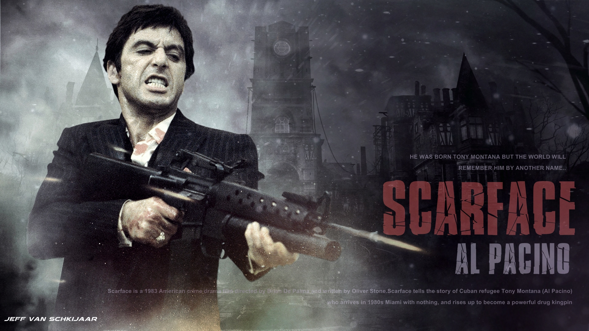 1920x1080 Free Scarface Wallpapers - Wallpaper Cave