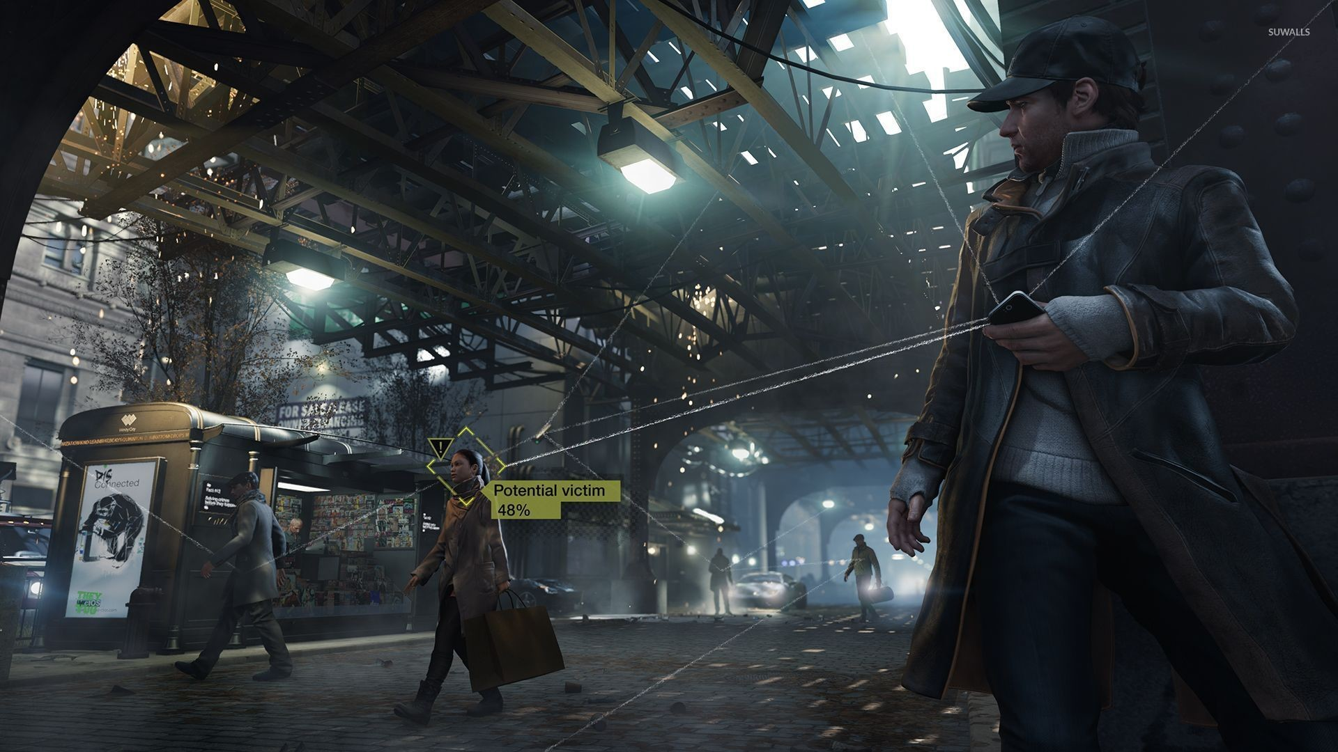 1920x1080 Aiden Pearce in Watch Dogs wallpapers Wallpapers) – HD Wallpapers