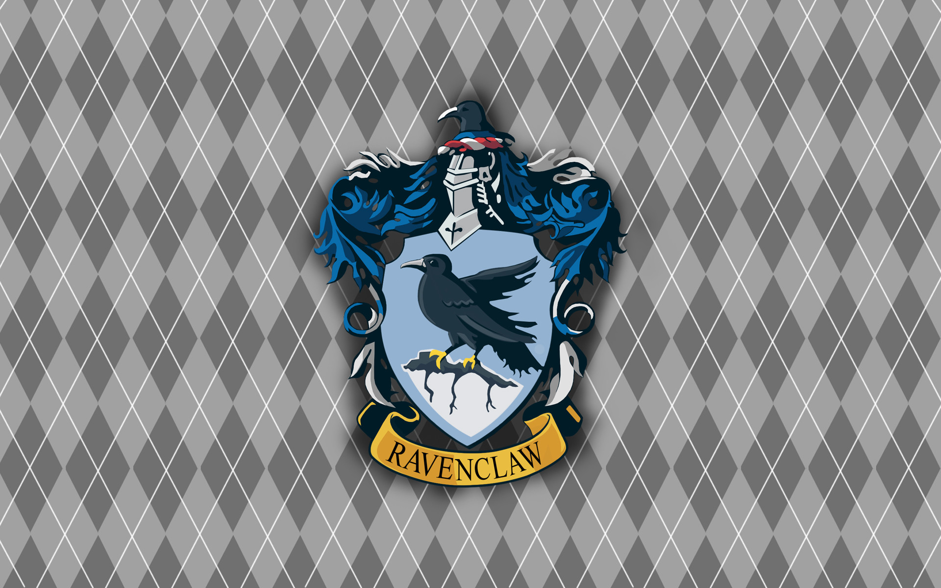 1920x1200 Ravenclaw Wallpaper by dragonlover28