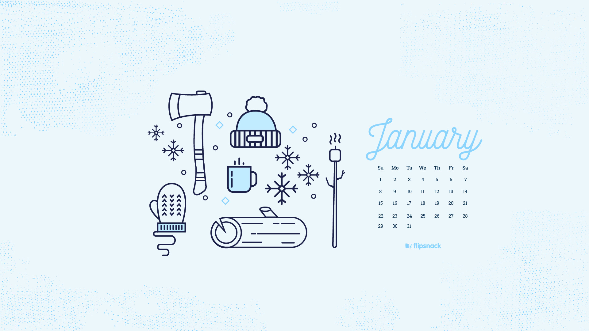 Cute January Calendar Wallpaper : January desktop wallpaper images
