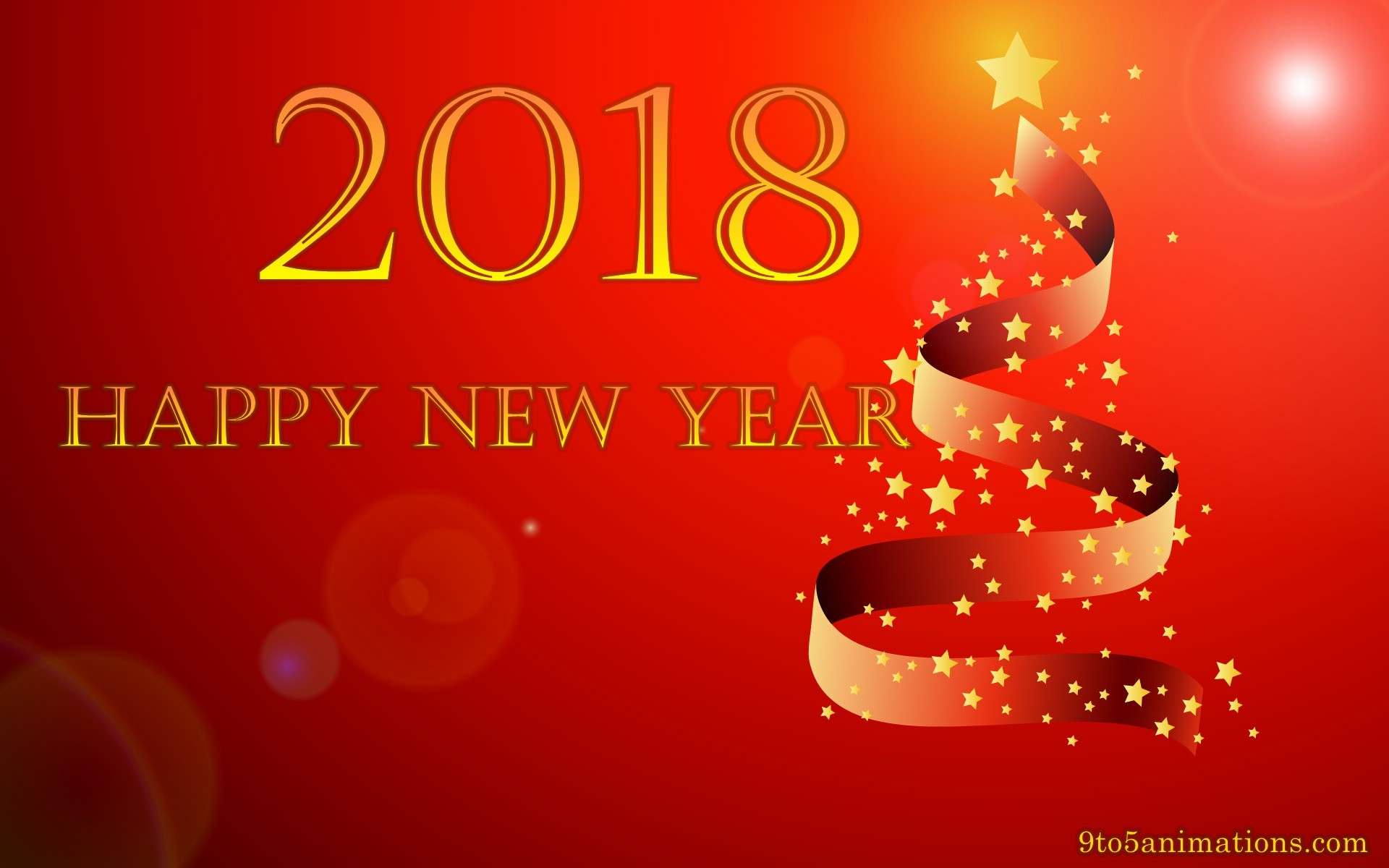 Computer Wallpaper New Year 2018 (68+ images)