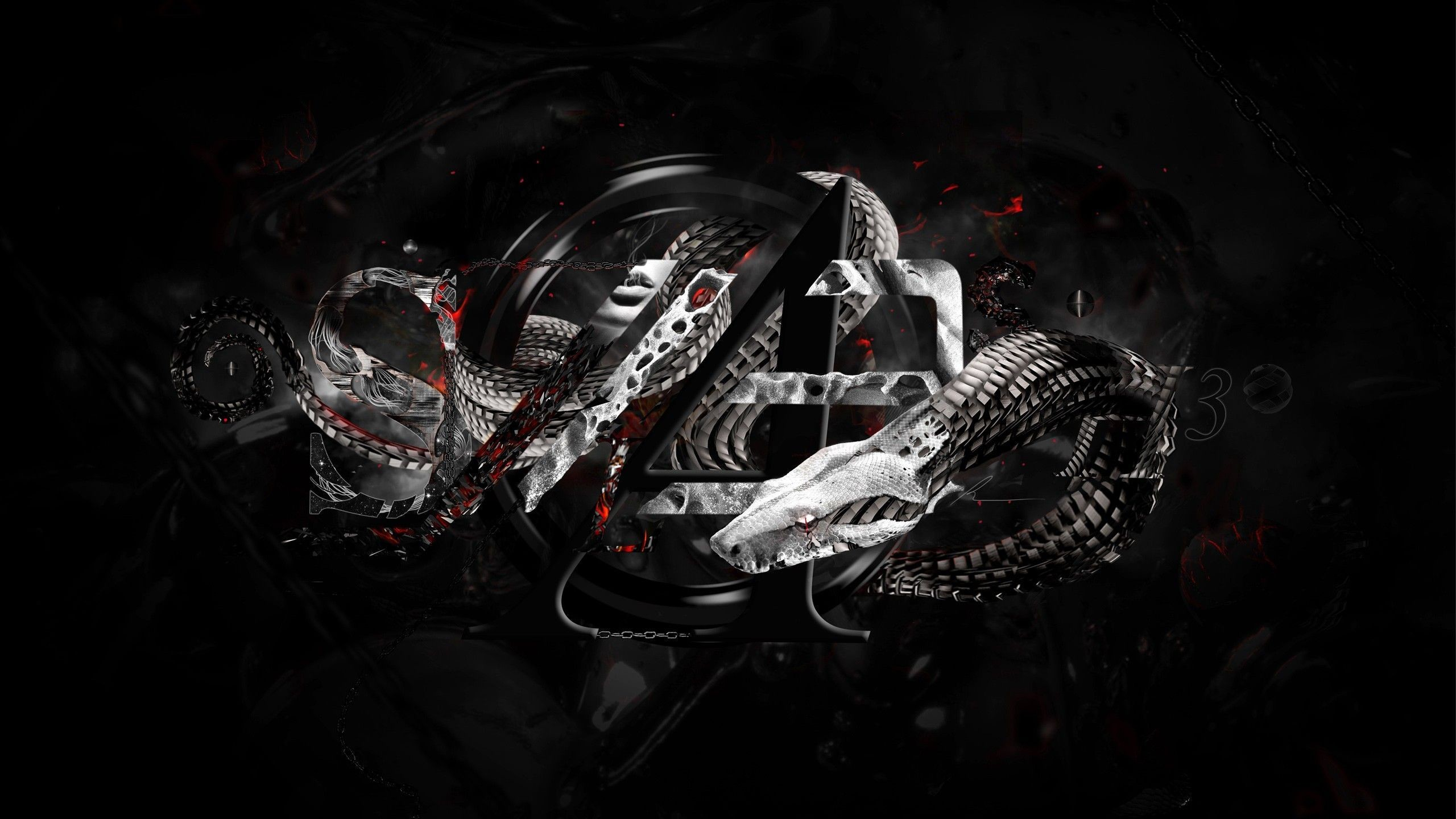 2560x1440 Stunning Snake Wallpapers; Armanda Witte: Top HD Snake Wallpapers, HDQ ...