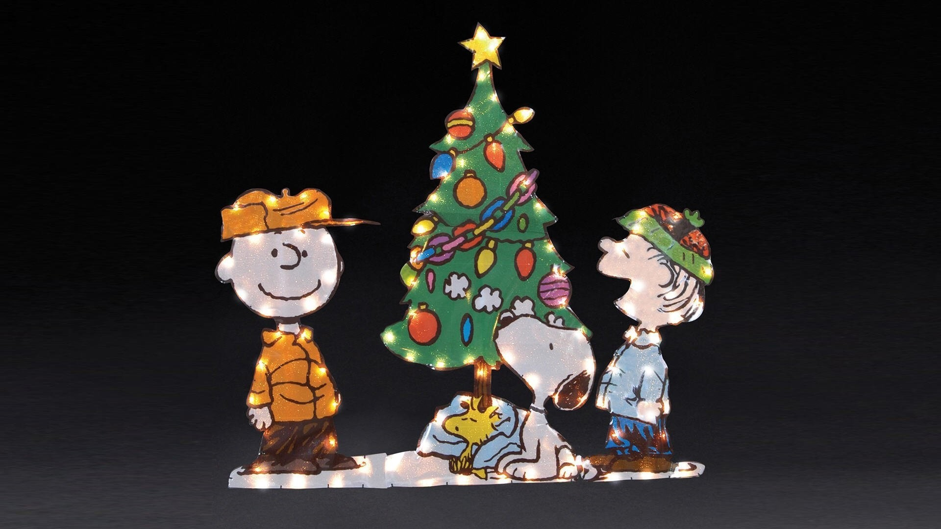 1920x1080 1920x1080 gallery of peanuts christmas wallpaper 8211 snoopy christmas tree wallpaper 2 - Snoopy Christmas Wallpaper