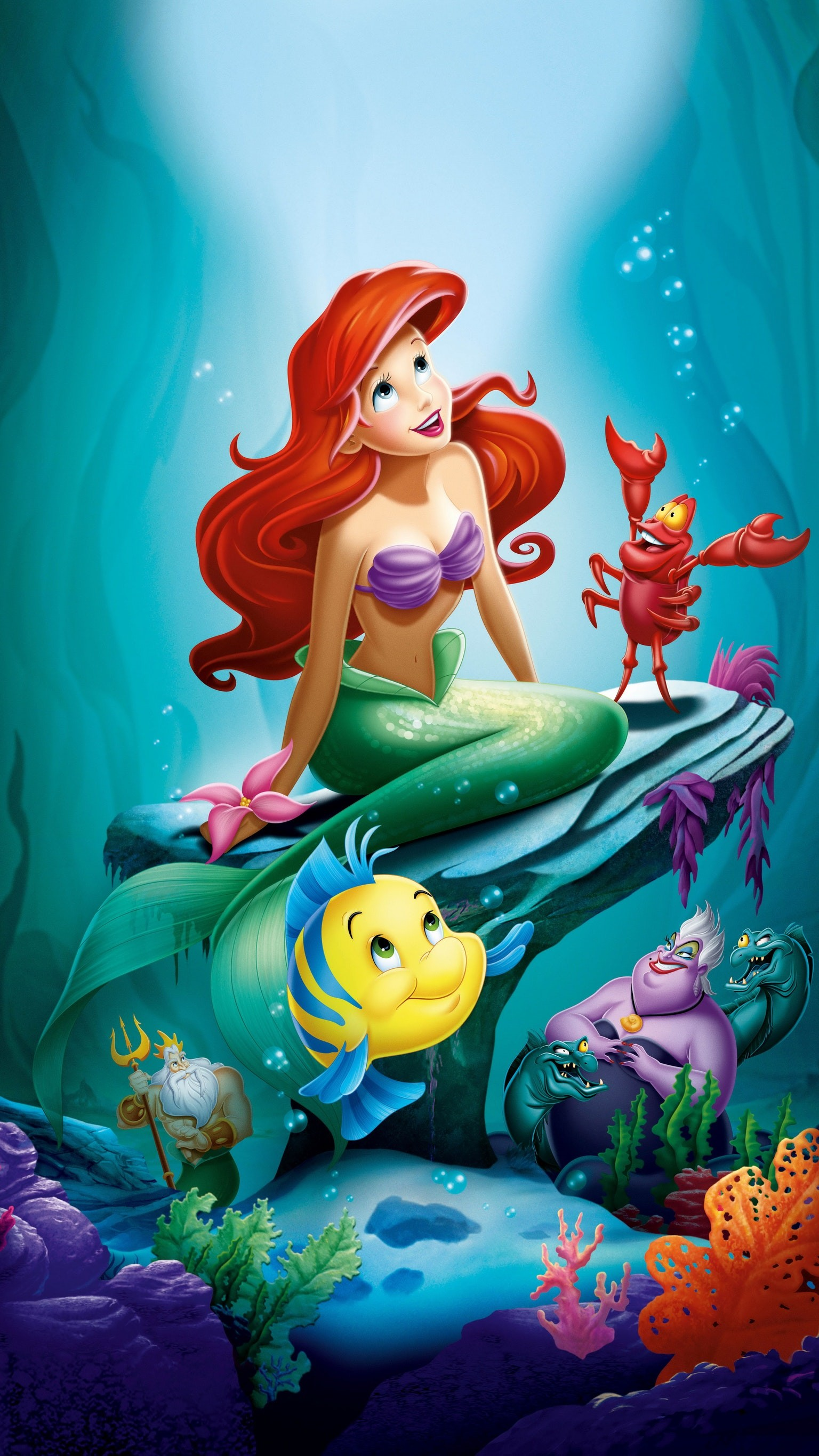 The Little Mermaid Wallpapers (60+ images) - photo#9