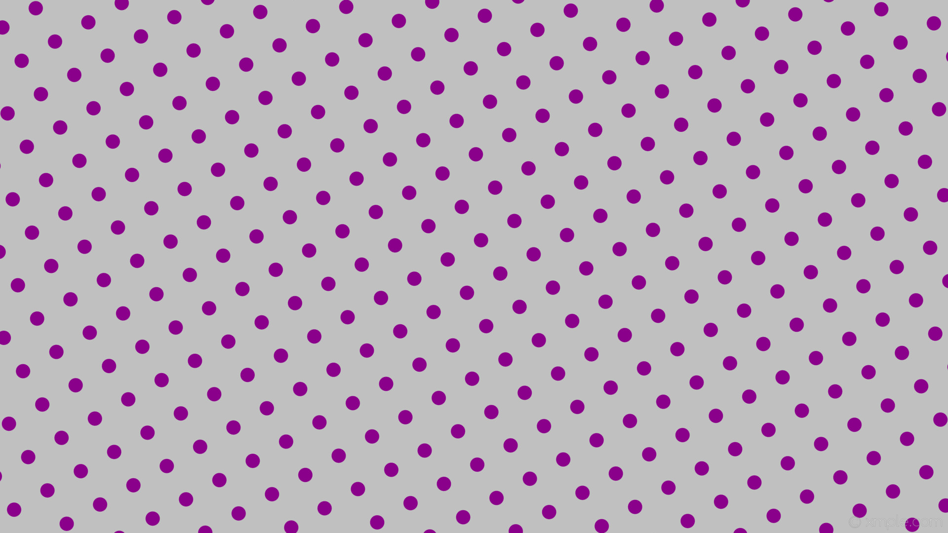1920x1080 wallpaper polka spots dots purple grey silver dark magenta #c0c0c0 #8b008b  210° 29px