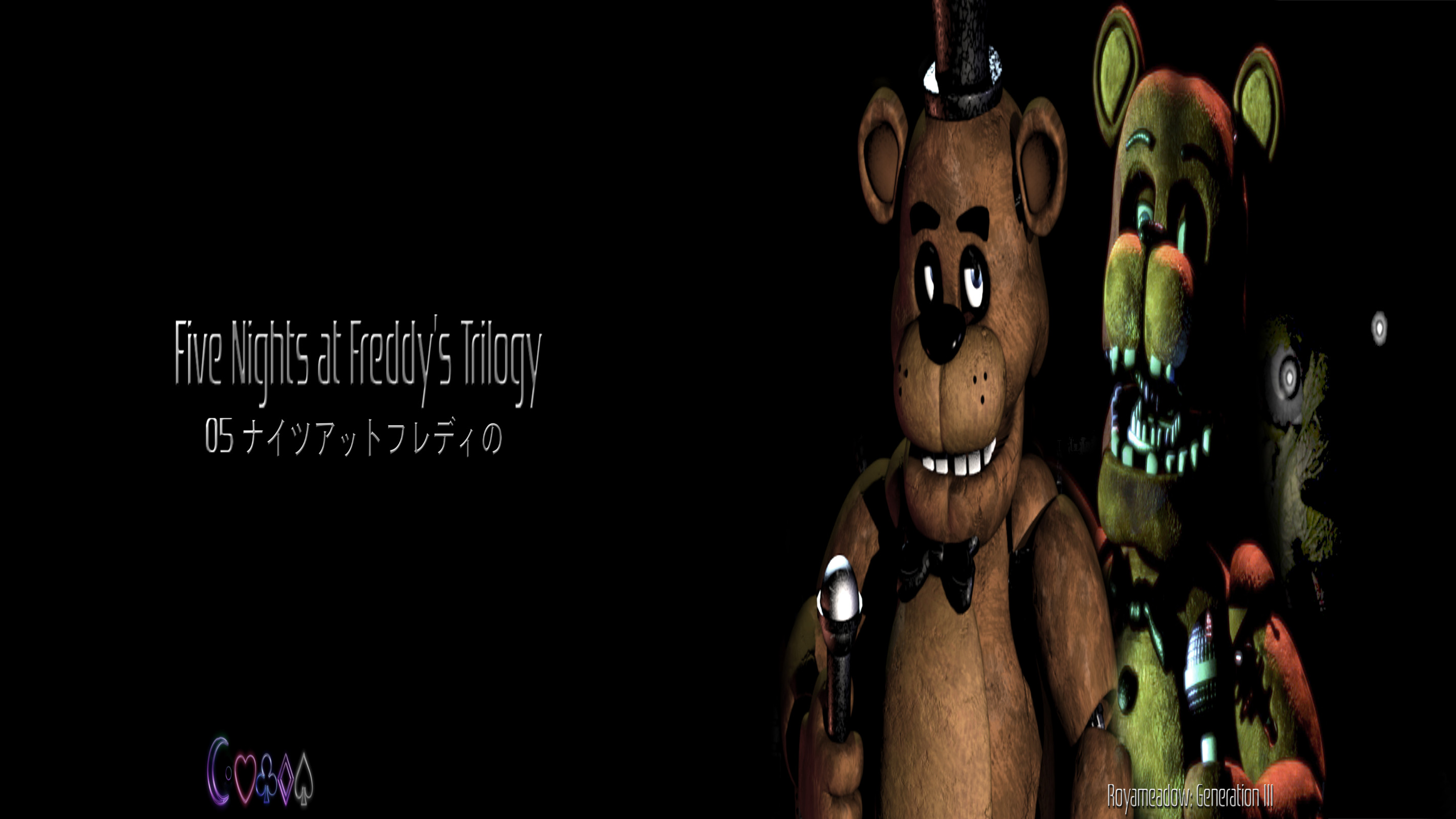 2844x1600 ... Five Nights at Freddy's Trilogy: Video Wallpaper by Royameadow