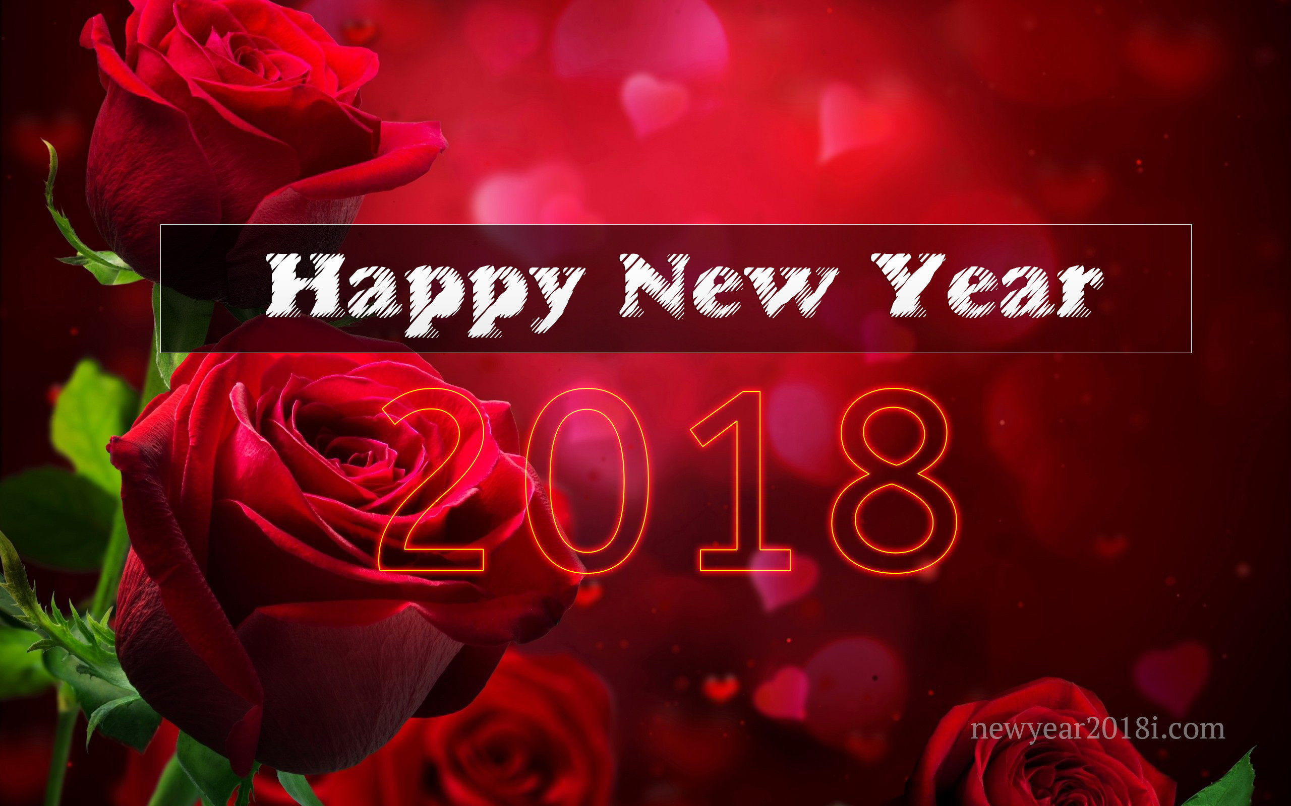 Happy New Year 2018 Love Wallpaper (74+ images)