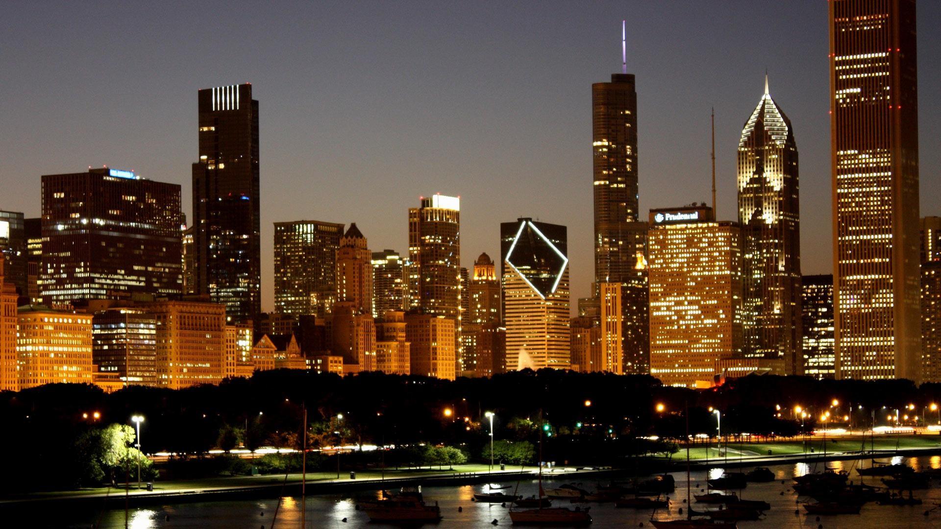 Detroit skyline wallpaper 51 images - Chicago skyline wallpaper 1920x1080 ...