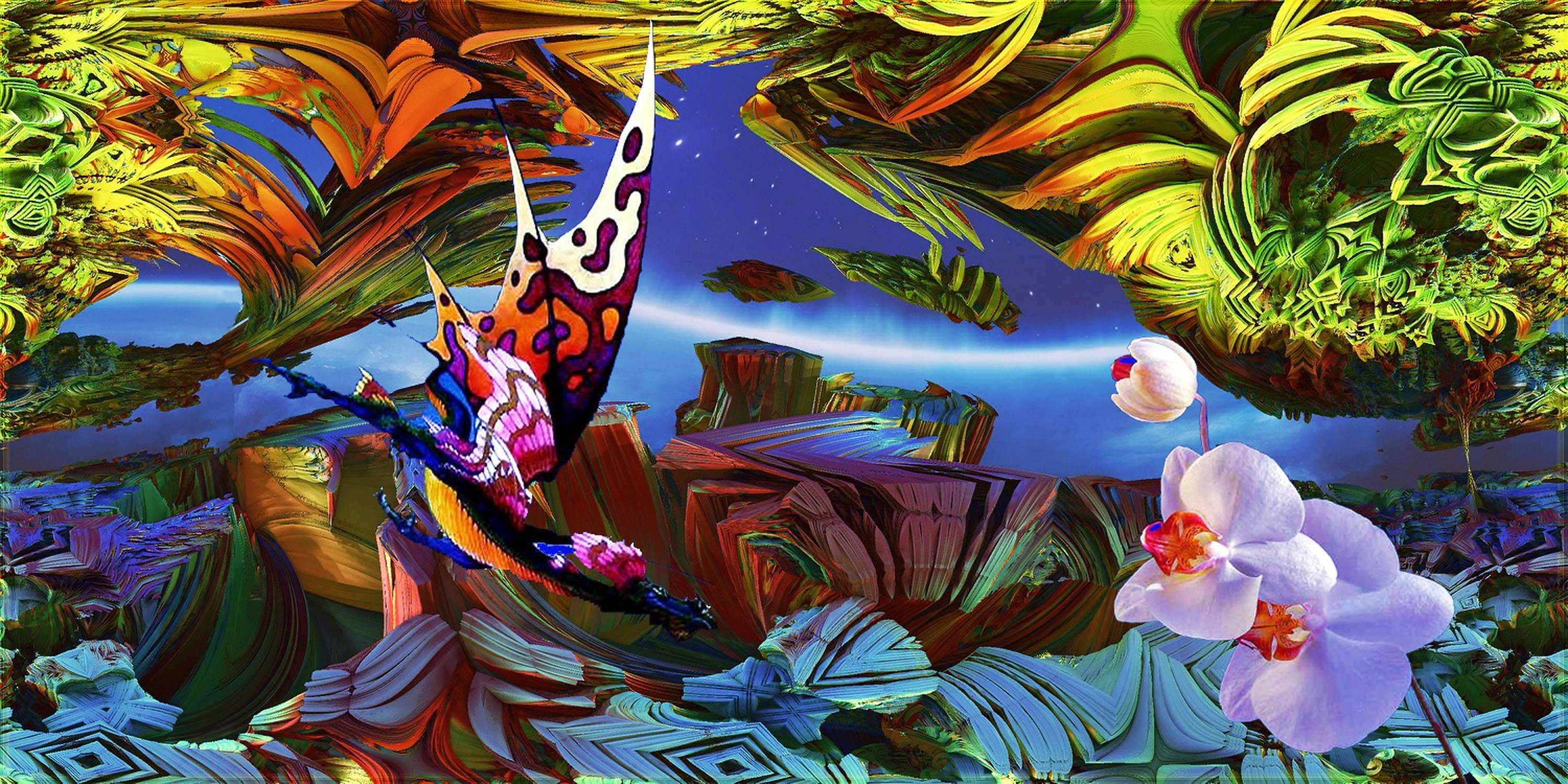3000x1500 HOMAGE TO ROGER DEAN II by DorianoArt on DeviantArt