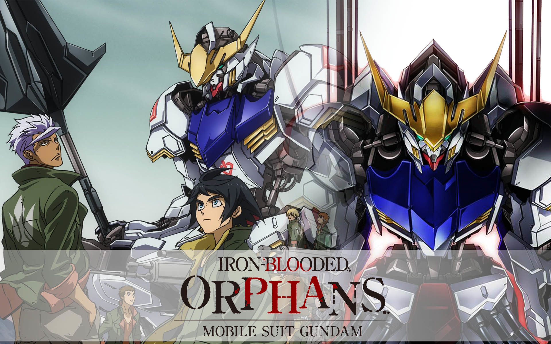 1920x1200 Mobile Suit Gundam: Iron-Blooded Orphans | Toonami Wiki | FANDOM powered by  Wikia