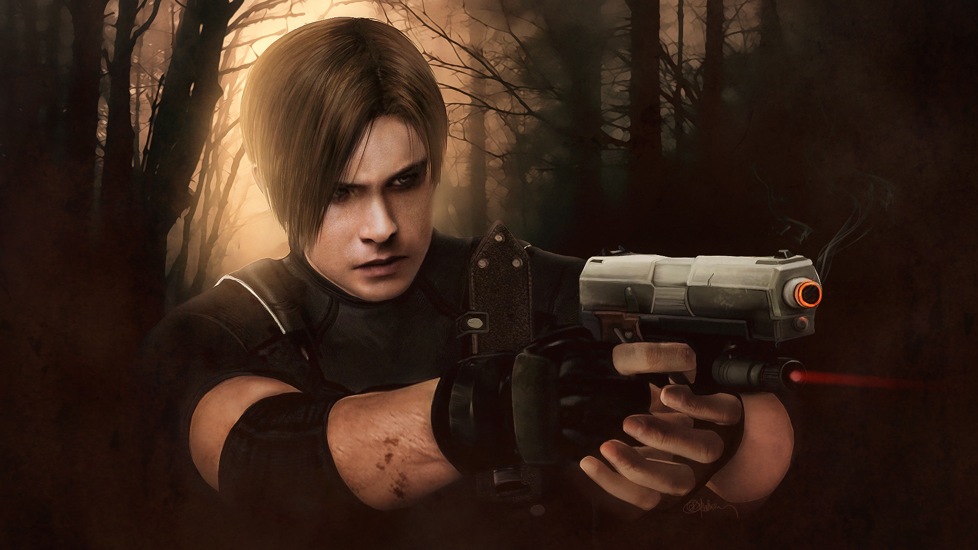 Leon Kennedy Wallpaper Ps3 By Jillvalentinexbsaa On Deviantart: Resident Evil 4 Movie Wallpaper (63+ Images