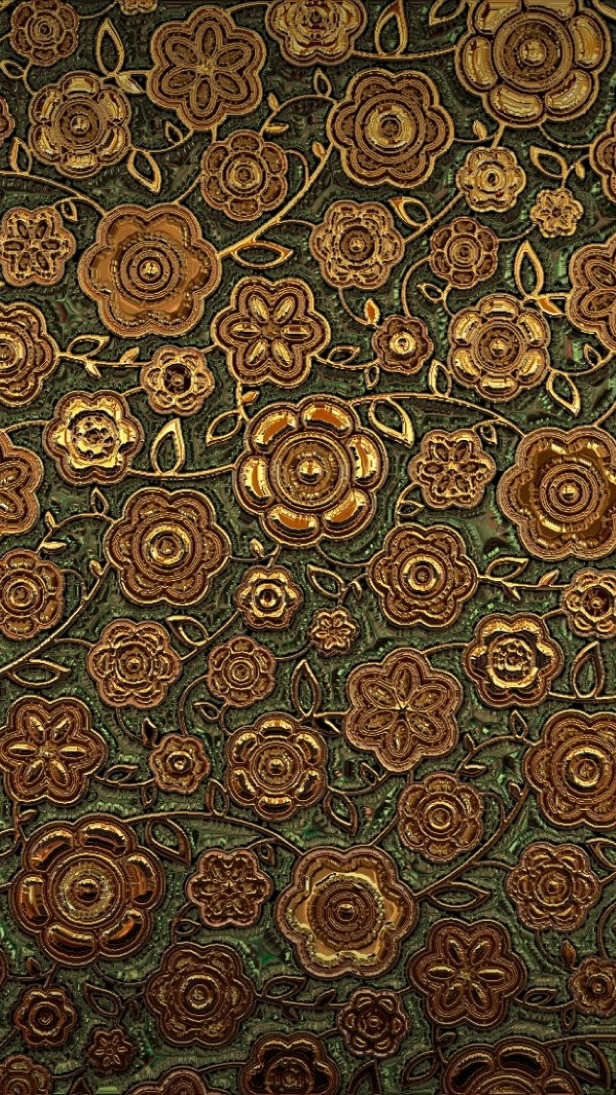 2160x3840  Wallpaper ornament, pattern, texture