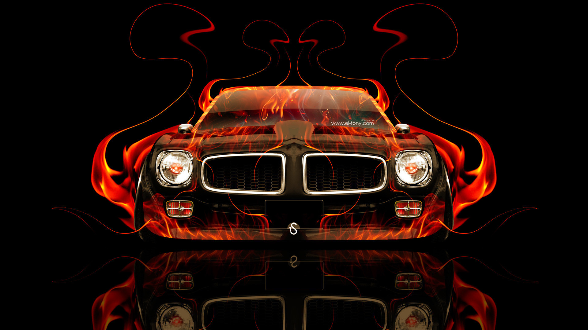 1920x1080  Pontiac-Firebird-Front-Fire-Abstract-Car-2014-HD-