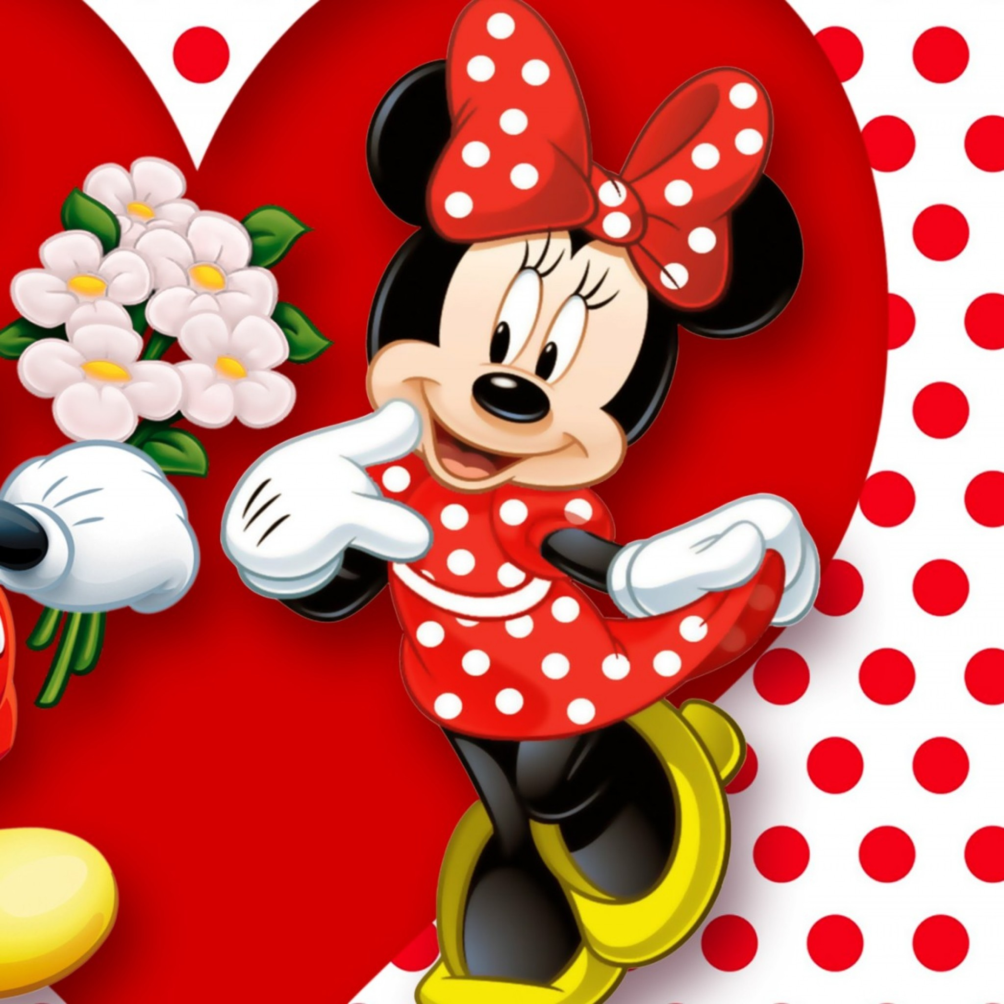 Minimouse Wallpaper: Mickey Mouse Valentine Wallpaper (53+ Images